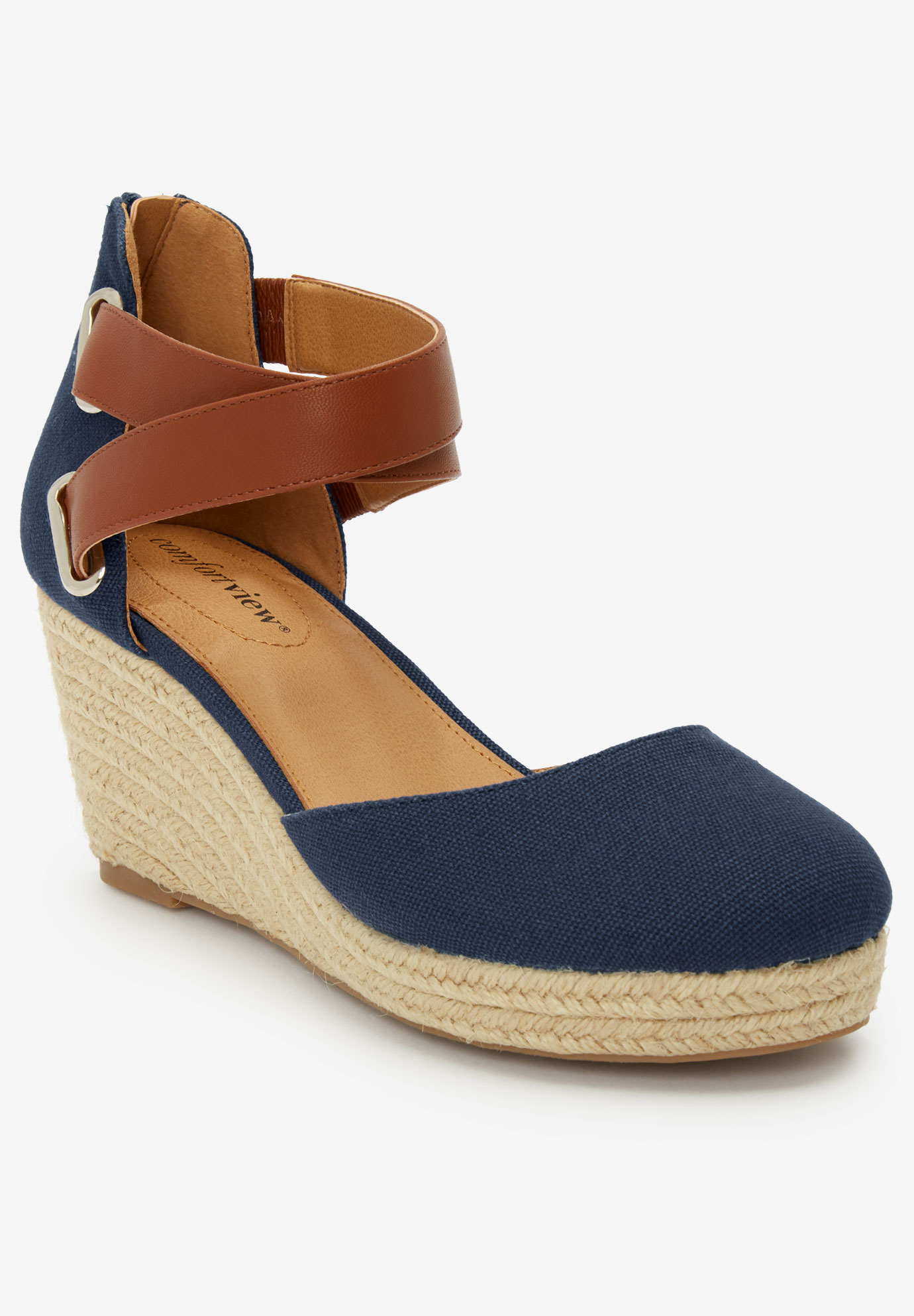 The Trixie Espadrille by Comfortview®,