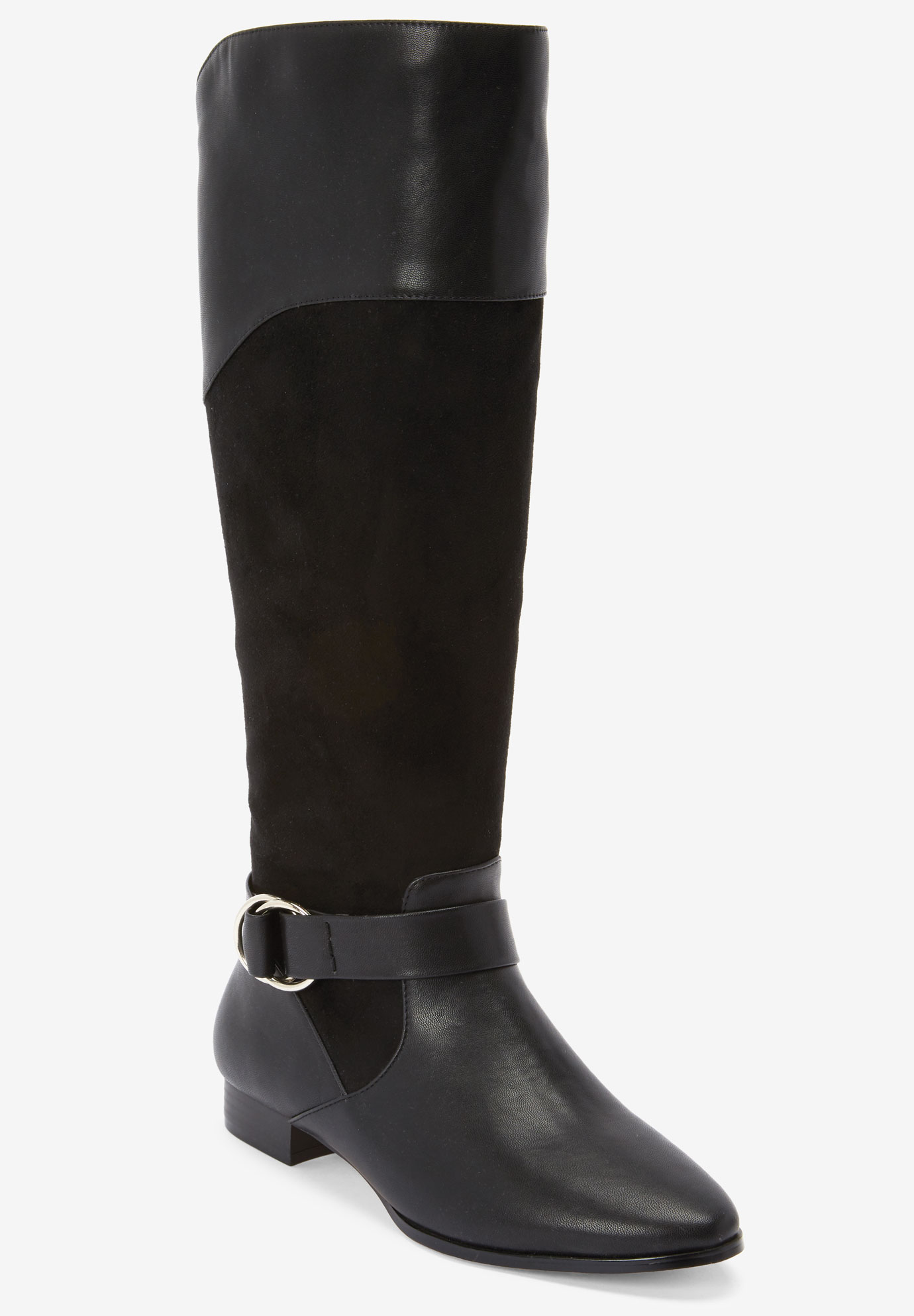 The Alina Wide Calf Boot by Comfortview®,
