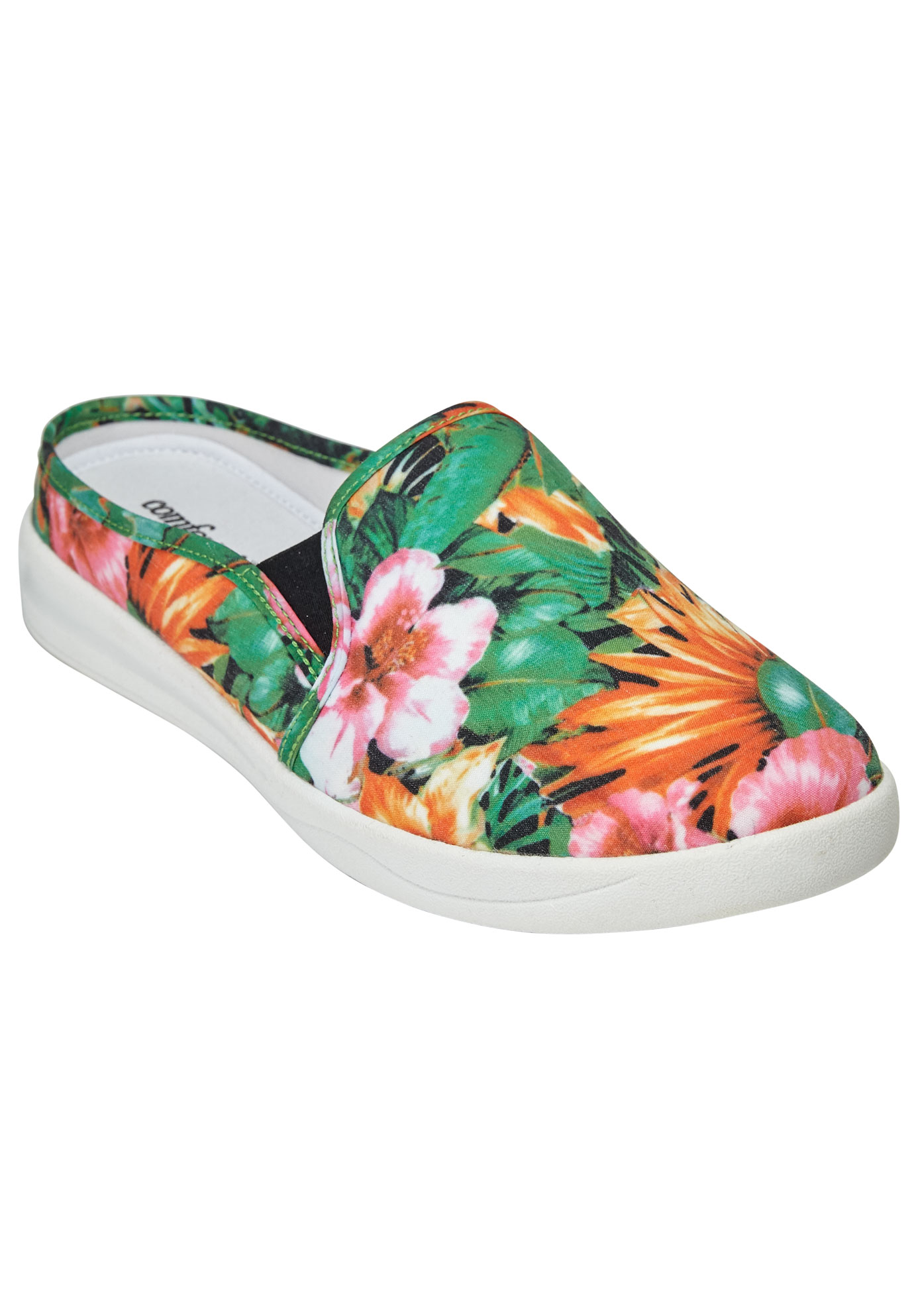 Camellia Sneaker by Comfortview®, TROPICAL FLORAL, hi-res