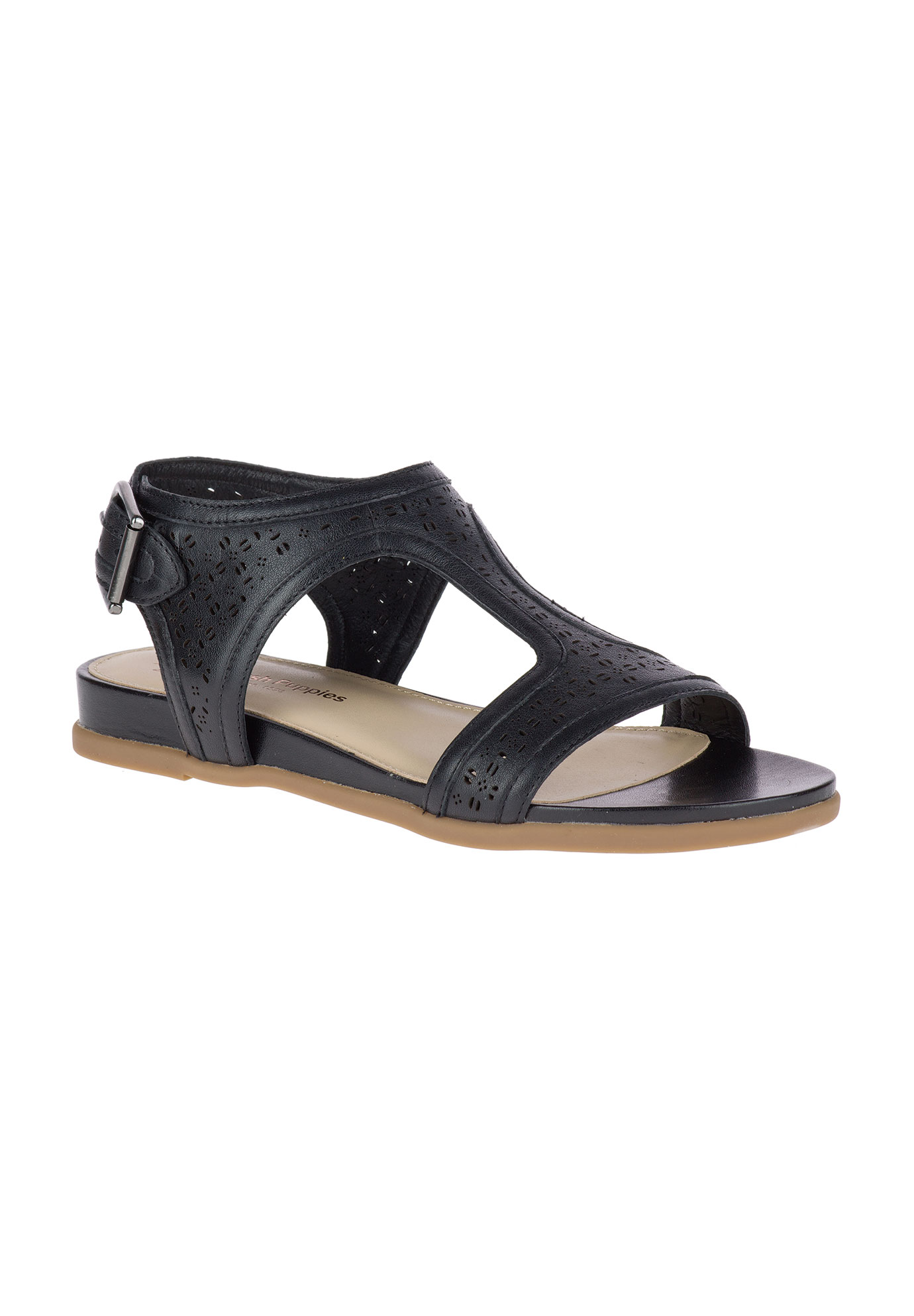 buy cheap 100% authentic Dalmation T-Strap Sandal by Hush Puppies® sale cheap CLBI9F6oR8