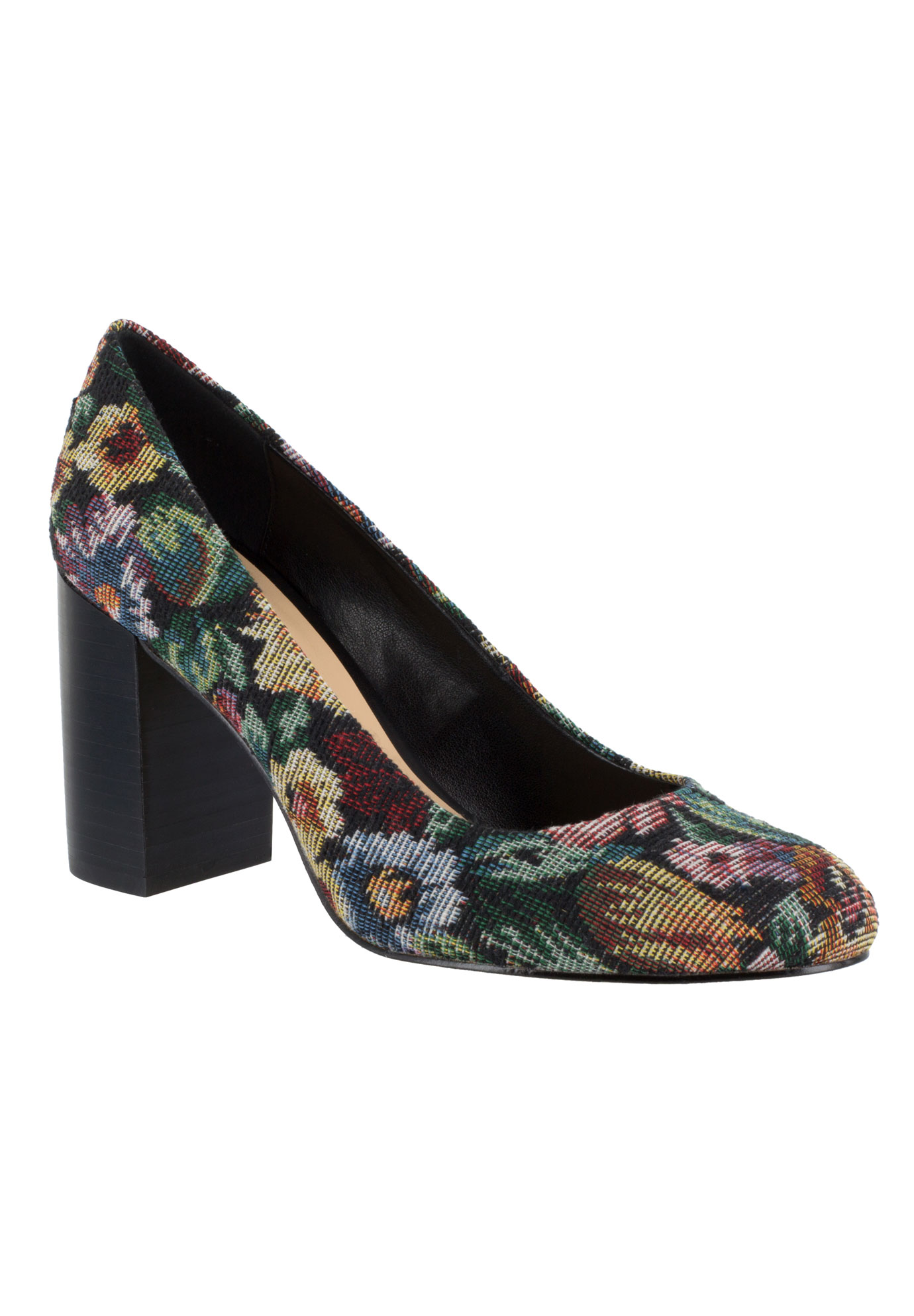 Nara Leather Pump by Bella Vita®, TAPESTRY, hi-res
