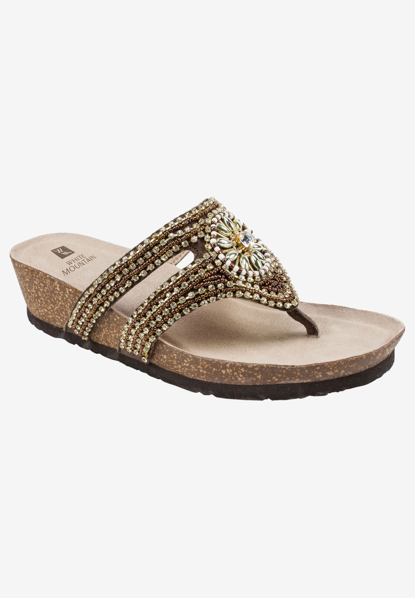 Busy Sandal by White Mountain,