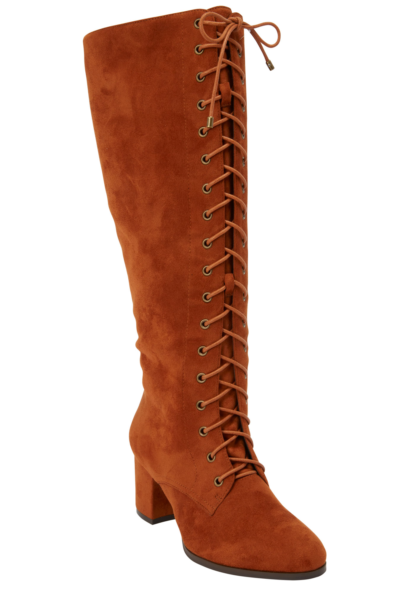 The Blaine Wide Calf Boot by Comfortview®,