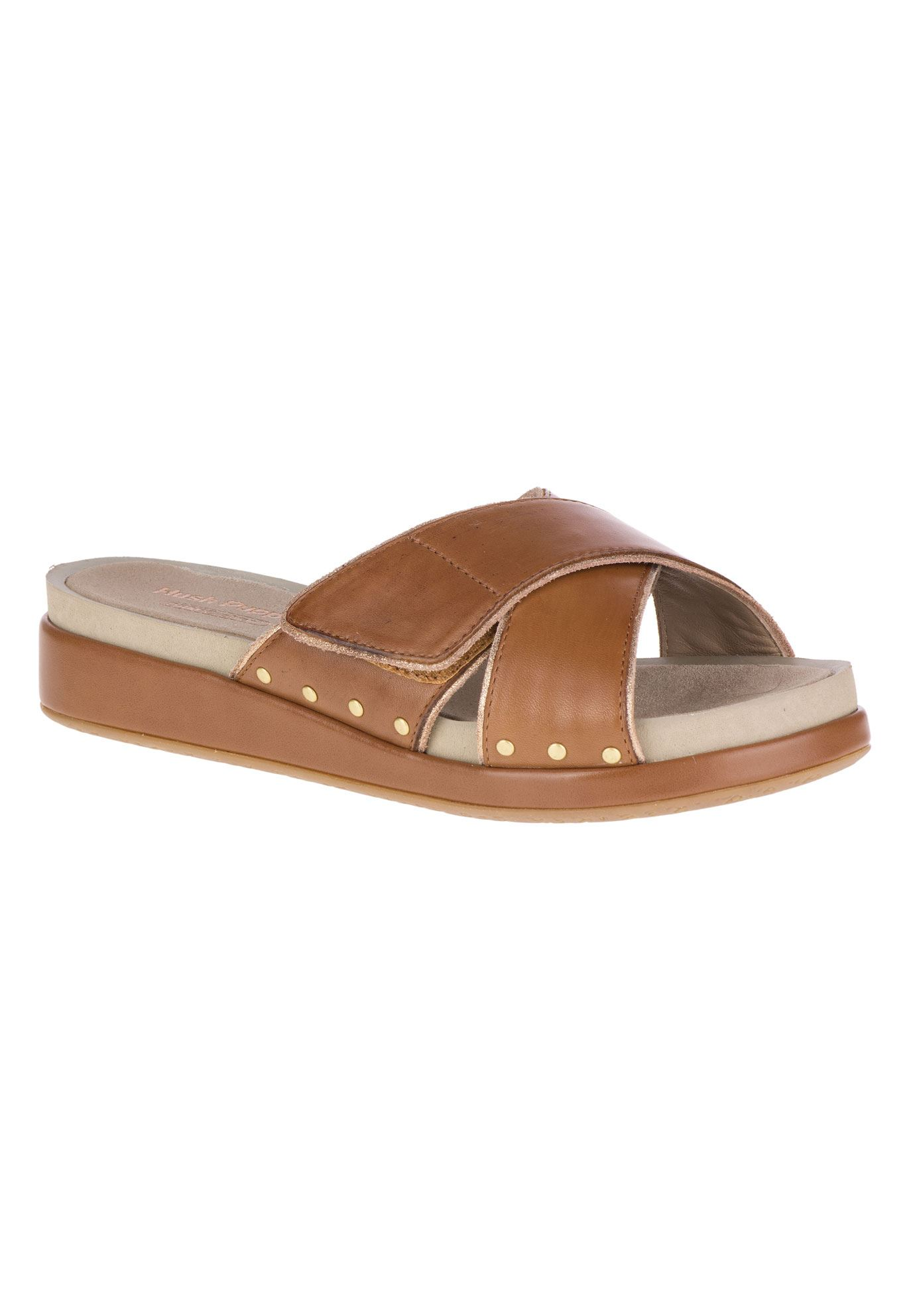Chrysta Xband Slide Sandals by Hush Puppies® cheap fake low shipping fee sale online get authentic FHL598BGf