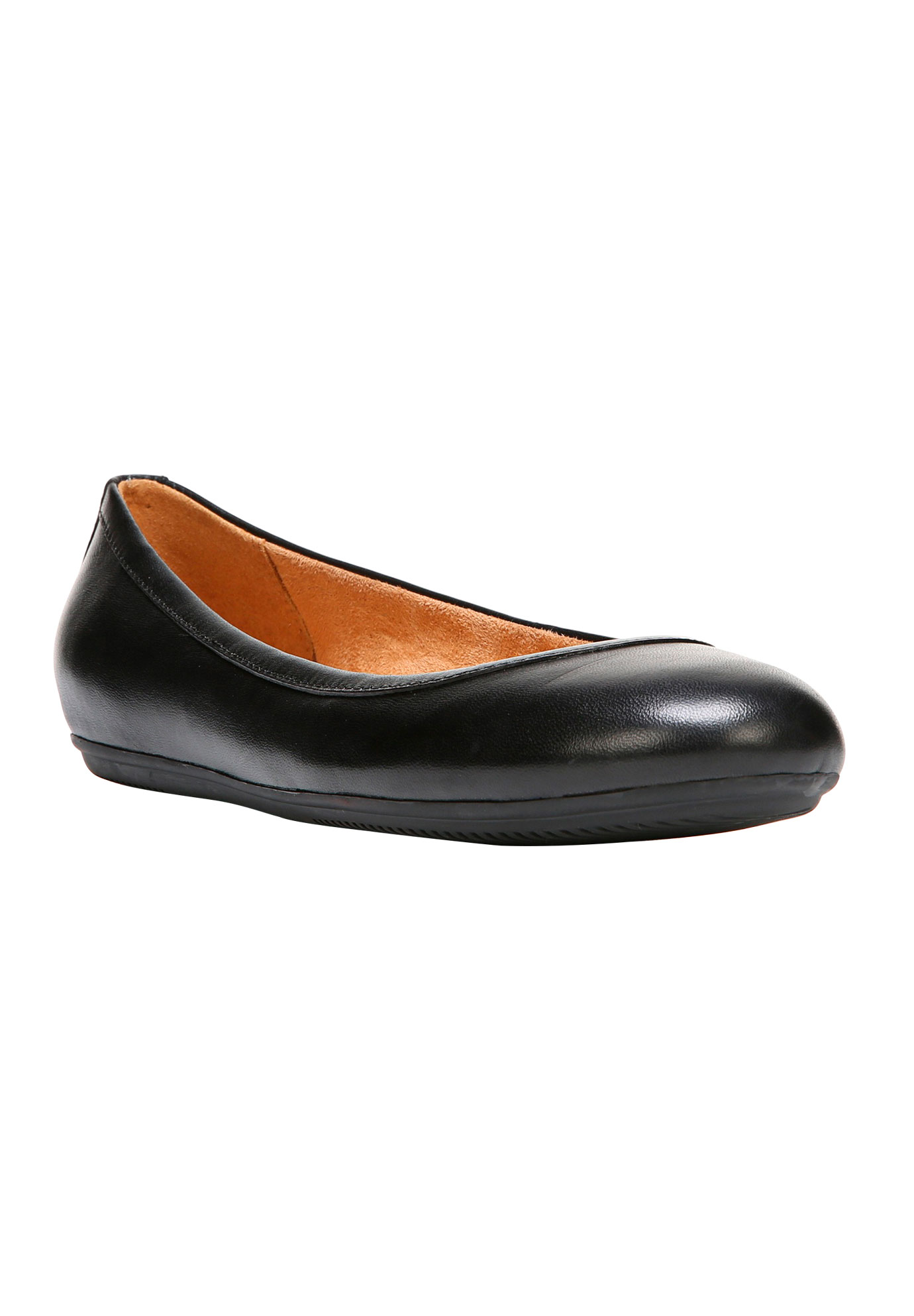 Brittany Flats by Naturalizer®, BLACK LEATHER, hi-res
