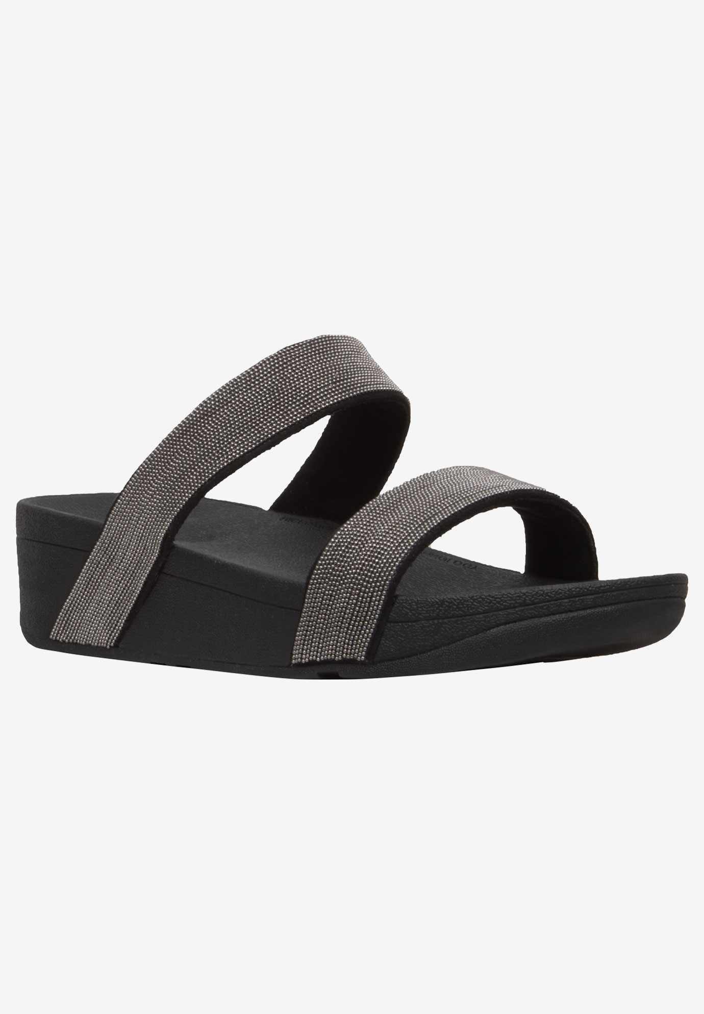 Lottie Shimmerish Slide Sandal by FitFlop,