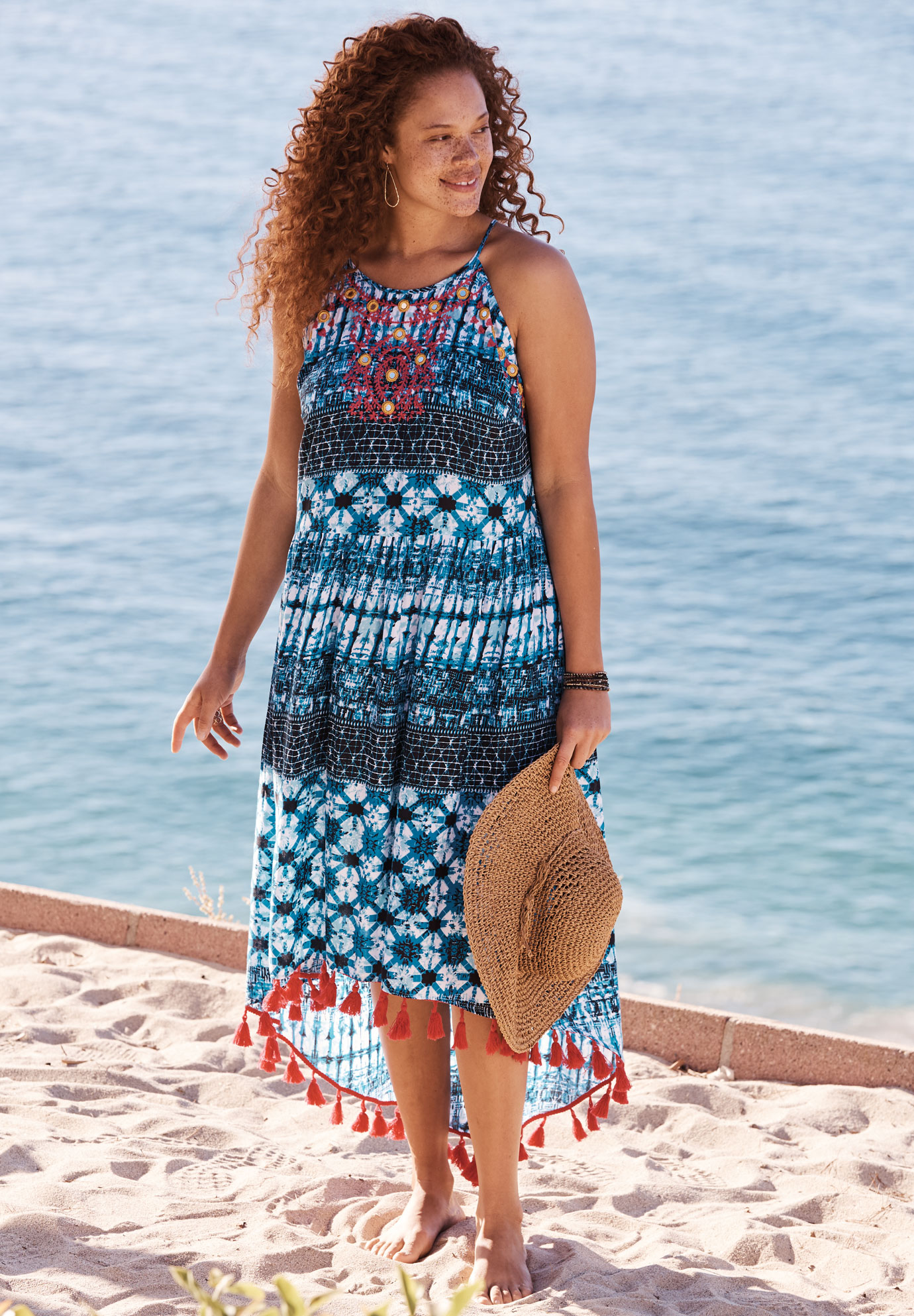 The Sea Breeze Swim Coverup,