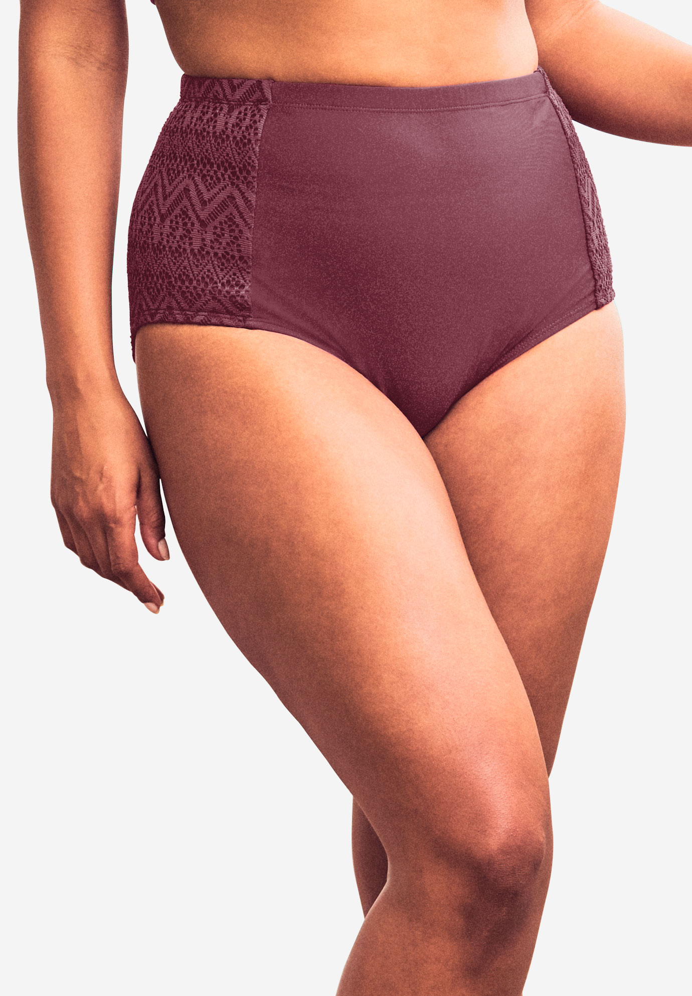 High-Waisted Swim Brief,