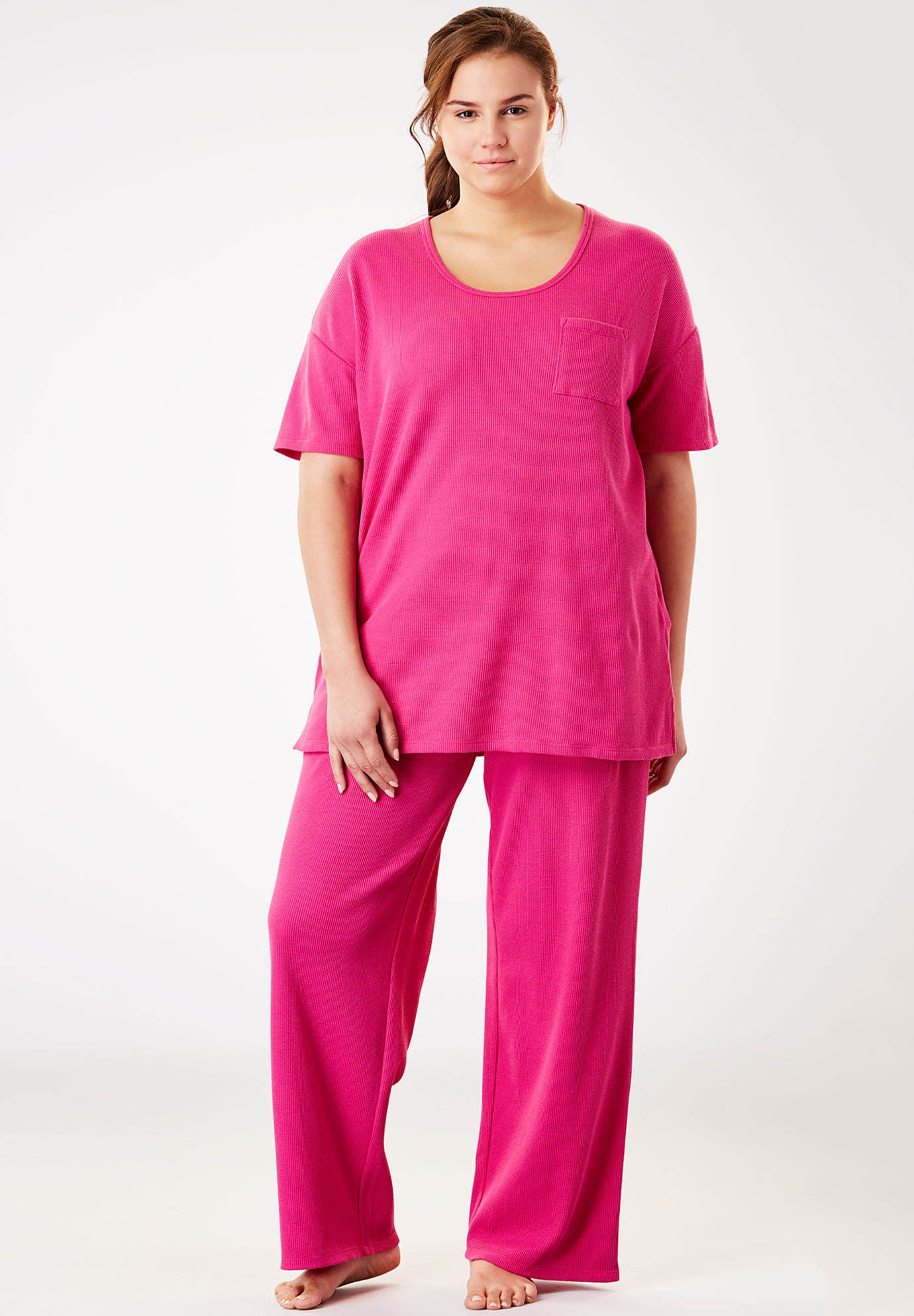 Supersoft Thermal Tee PJ Set by Dreams & Co.®,