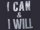 Graphic Tunic, NAVY I CAN I WILL, swatch