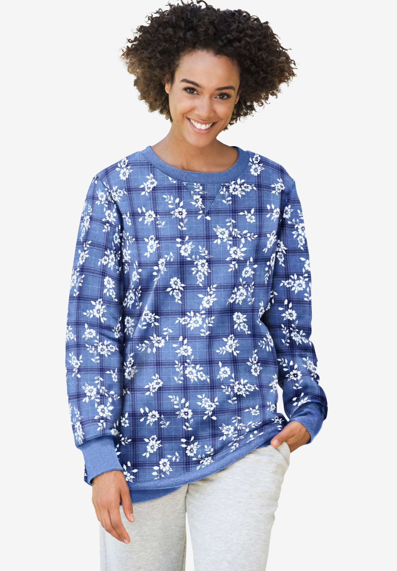 Fleece Sweatshirt,