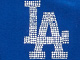 MLB® V-neck cotton tee, DODGERS, swatch