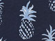 Perfect Printed Tank, NAVY BLUEBERRY CREAM PINEAPPLE, swatch