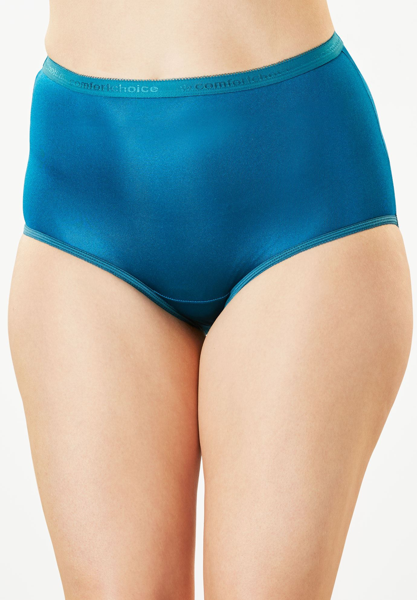 10-Pack Nylon Full-Cut Brief by Comfort Choice®,