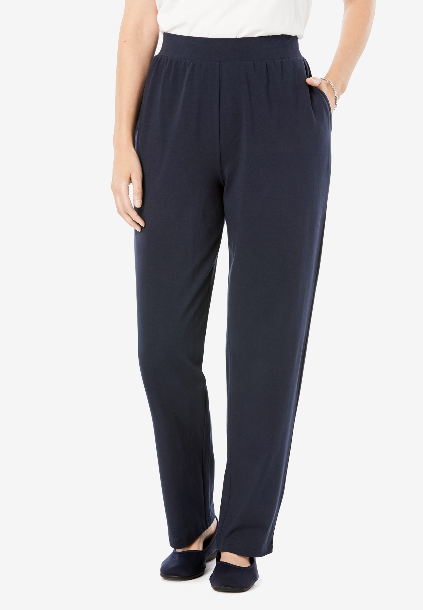 EveryWear Essentials™ Straight Leg Pant,