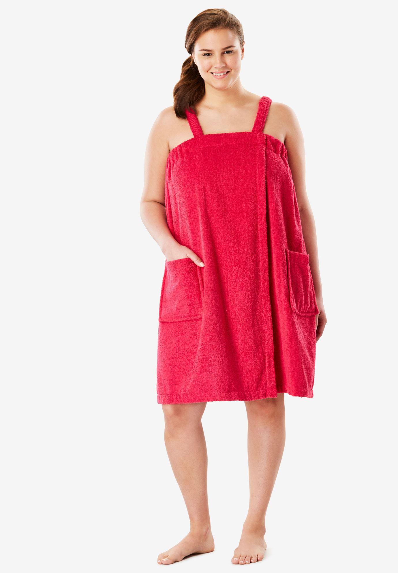 e50ca760f7 Beach Maxi Wrap Slip Dress Plus Size