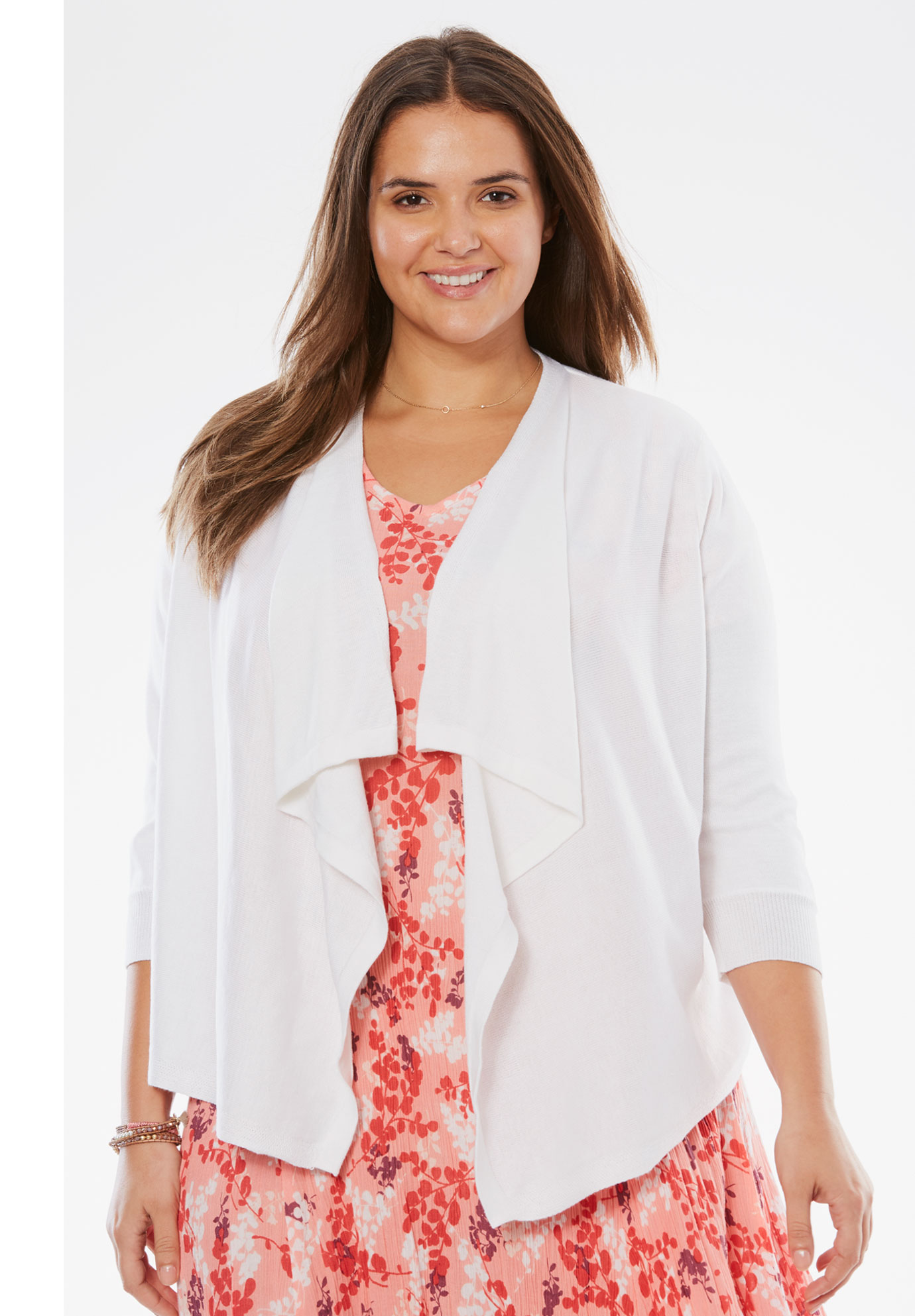 Cascade Front Cardigan,