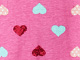Print Sleepshirt by Dreams & Co®, PINK HEART, swatch