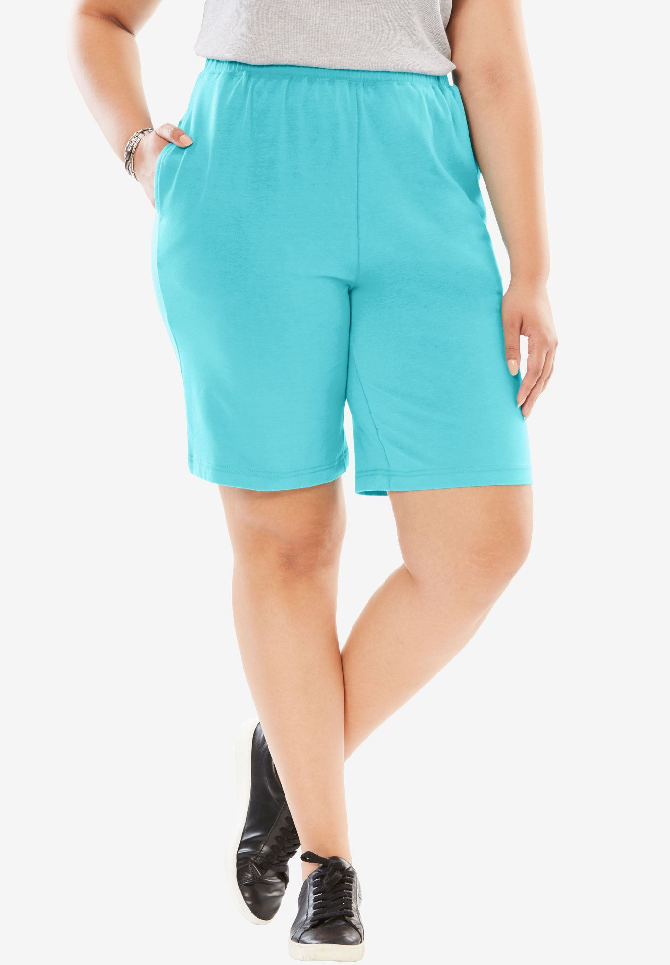Stretch Cotton Easy Short,