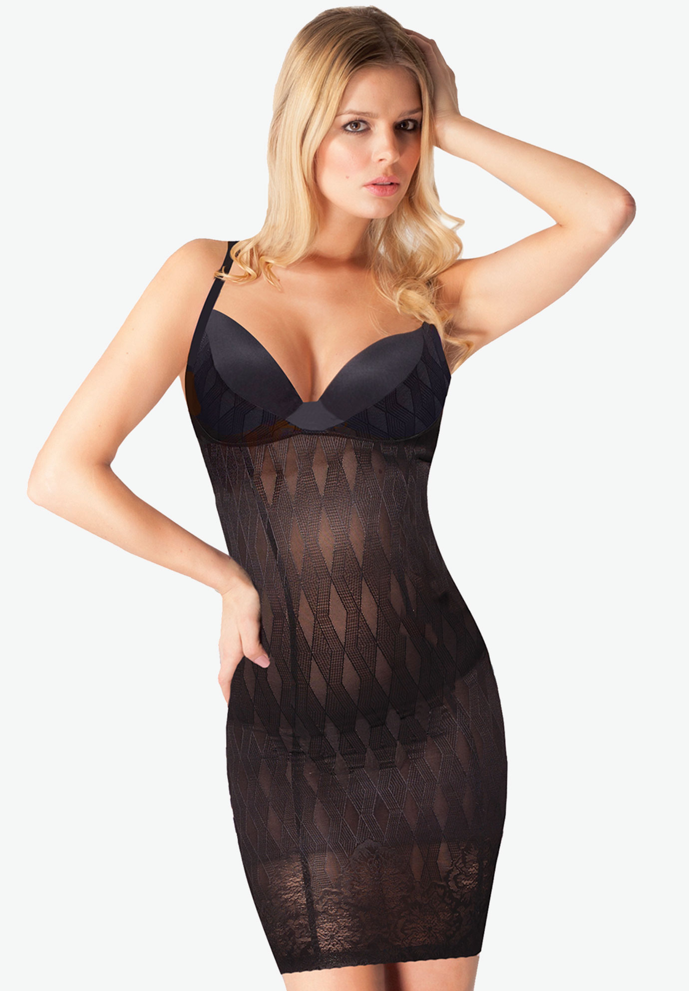 The Couture Slip by Body Hush®, BLACK, hi-res