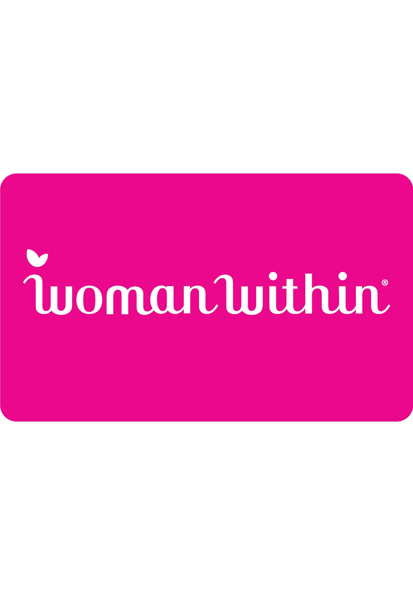 Woman Within Gift Card,