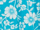 Crinkle Cotton Lounger by Only Necessities®, PRETTY TURQUOISE FLORAL, swatch