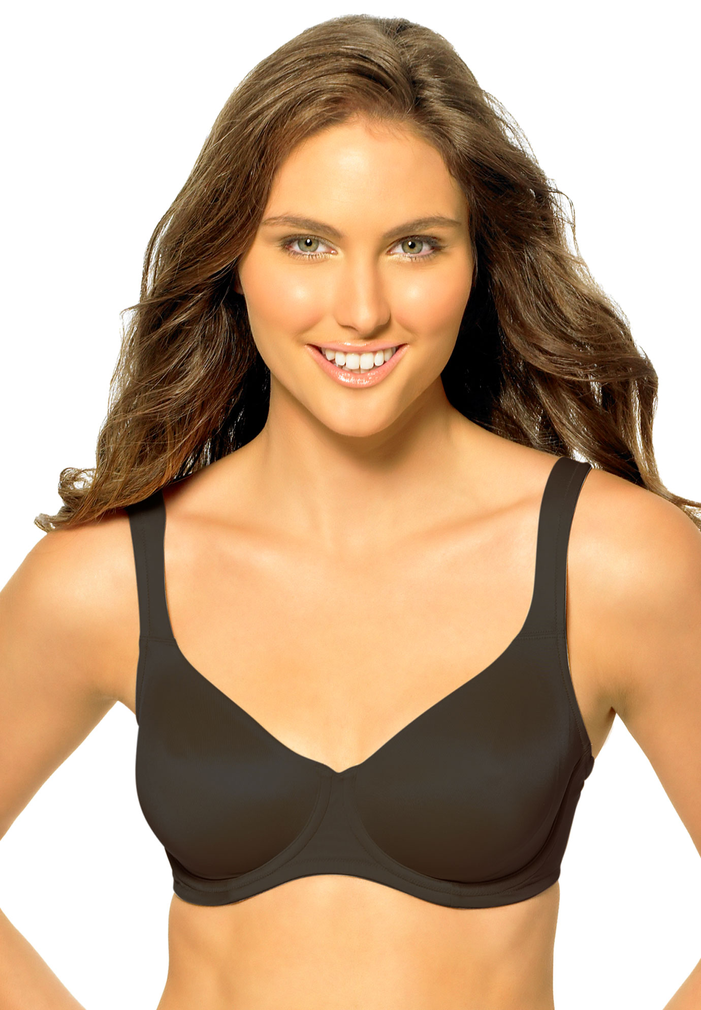 Dominique ™ Underwire Silky Support Bra,