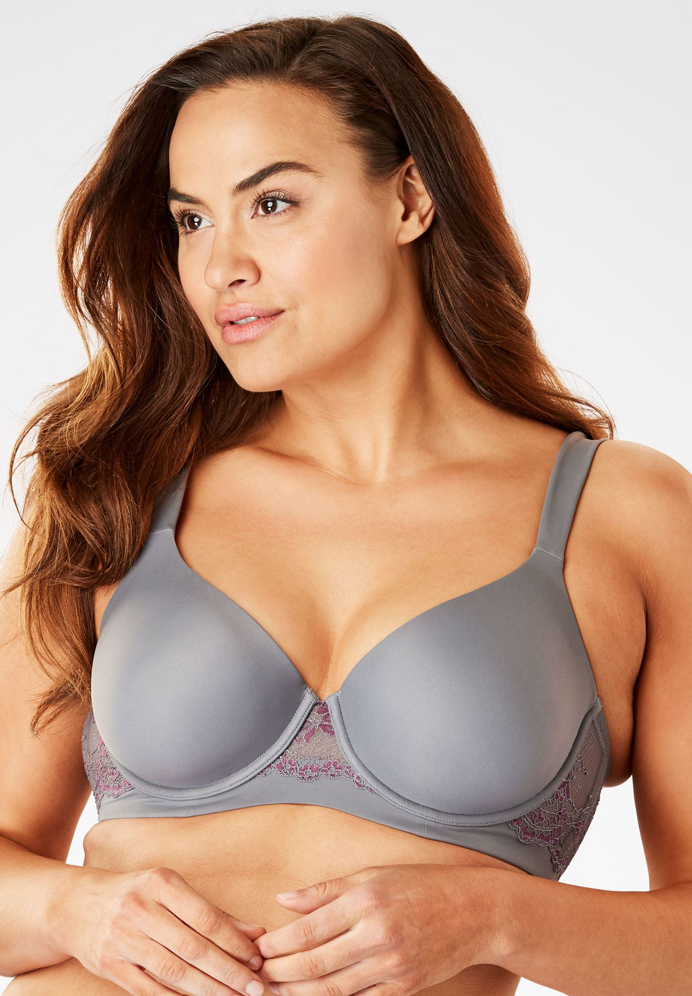 Underwire Balconette T-Shirt Bra By Leading Lady®,