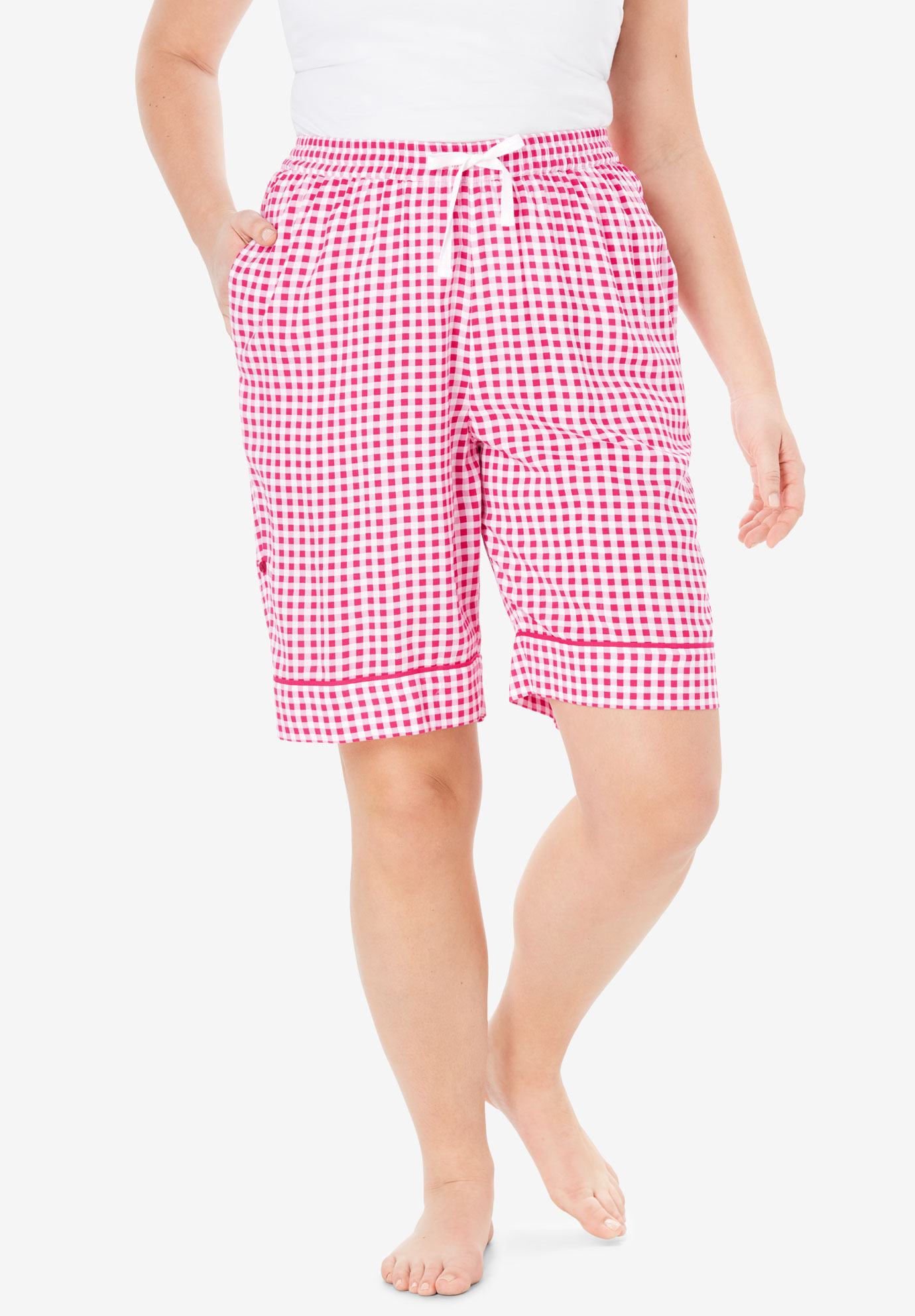 Convertible Pajama Short by Dreams & Co.®,