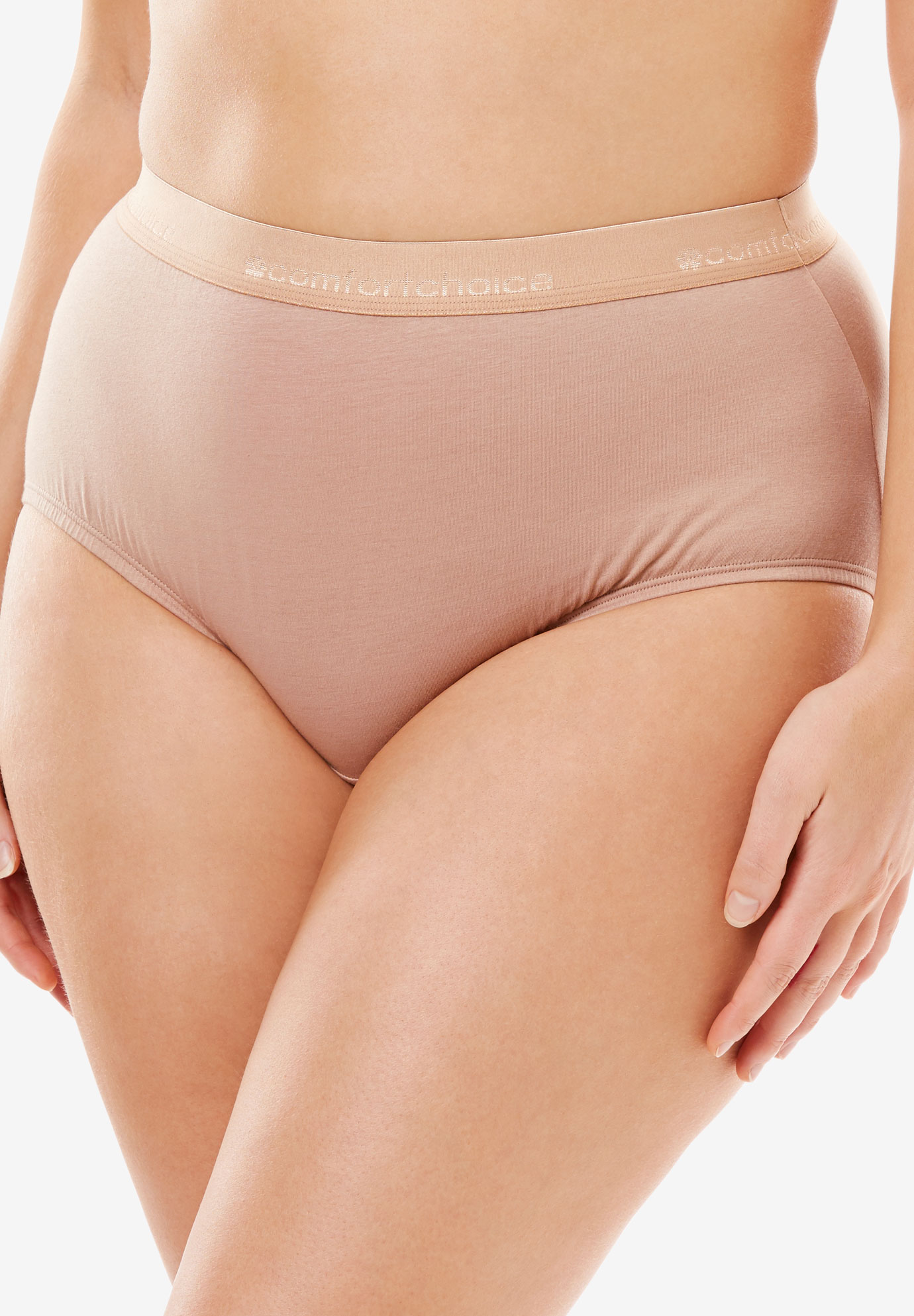 Comfort Choice® Stretch Cotton Brief 2-Pack,