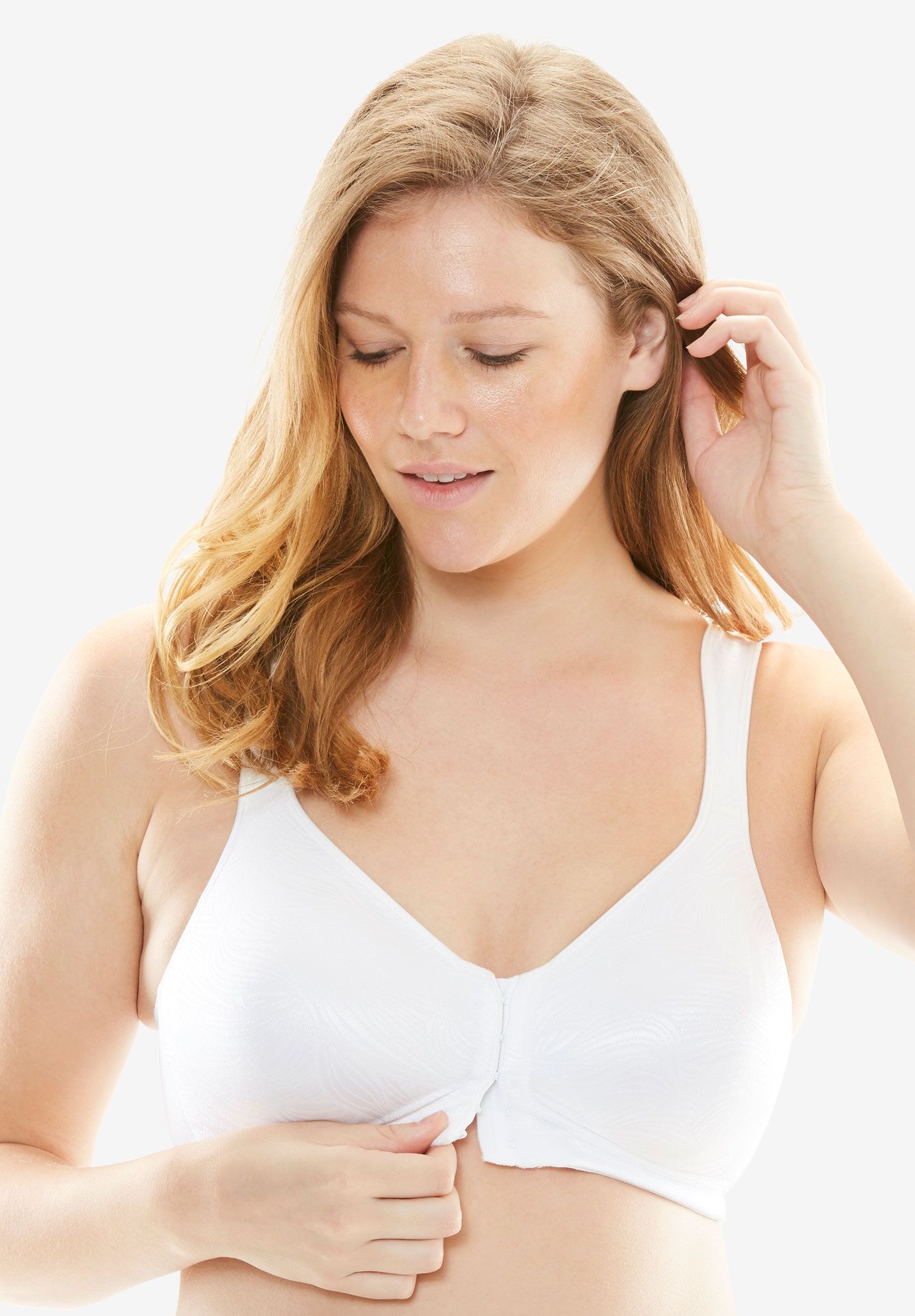18 Hour Superior Lift Posture Bra by Playtex®, WHITE, hi-res