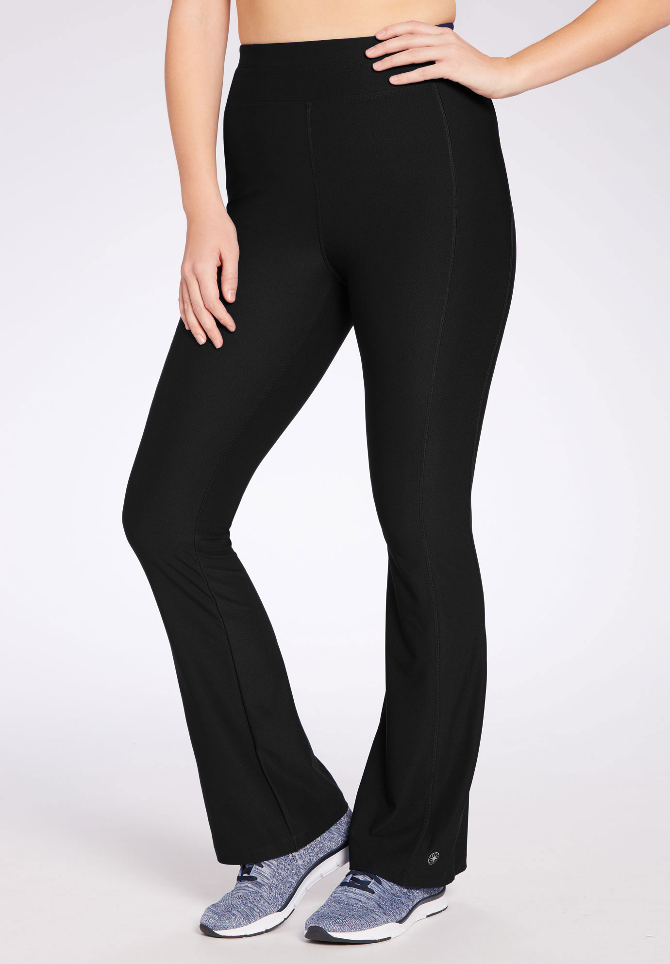 Bootcut Yoga Pant By Fullbeauty Sport 174 Plus Size Pants