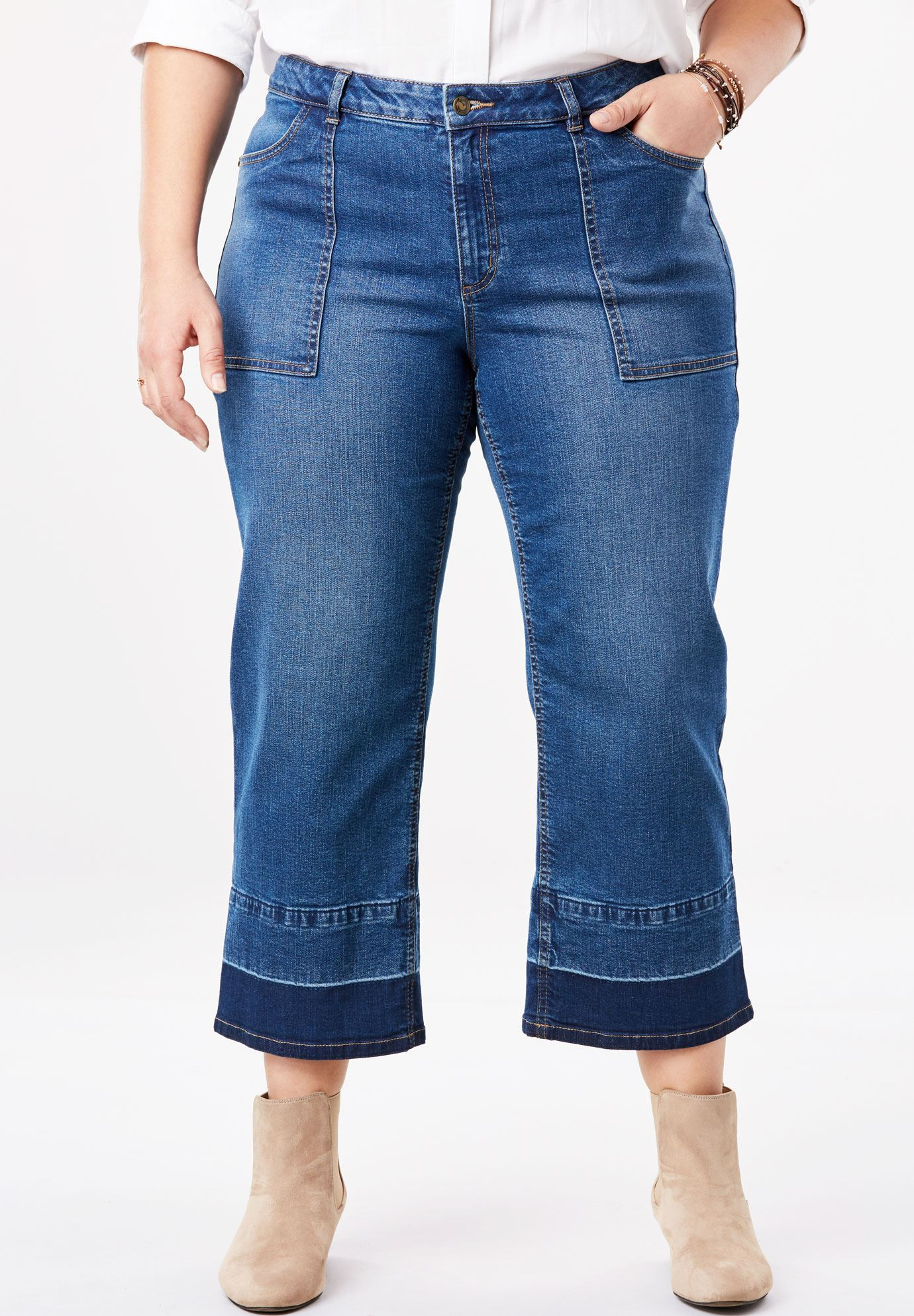 Culotte Stretch Jean,