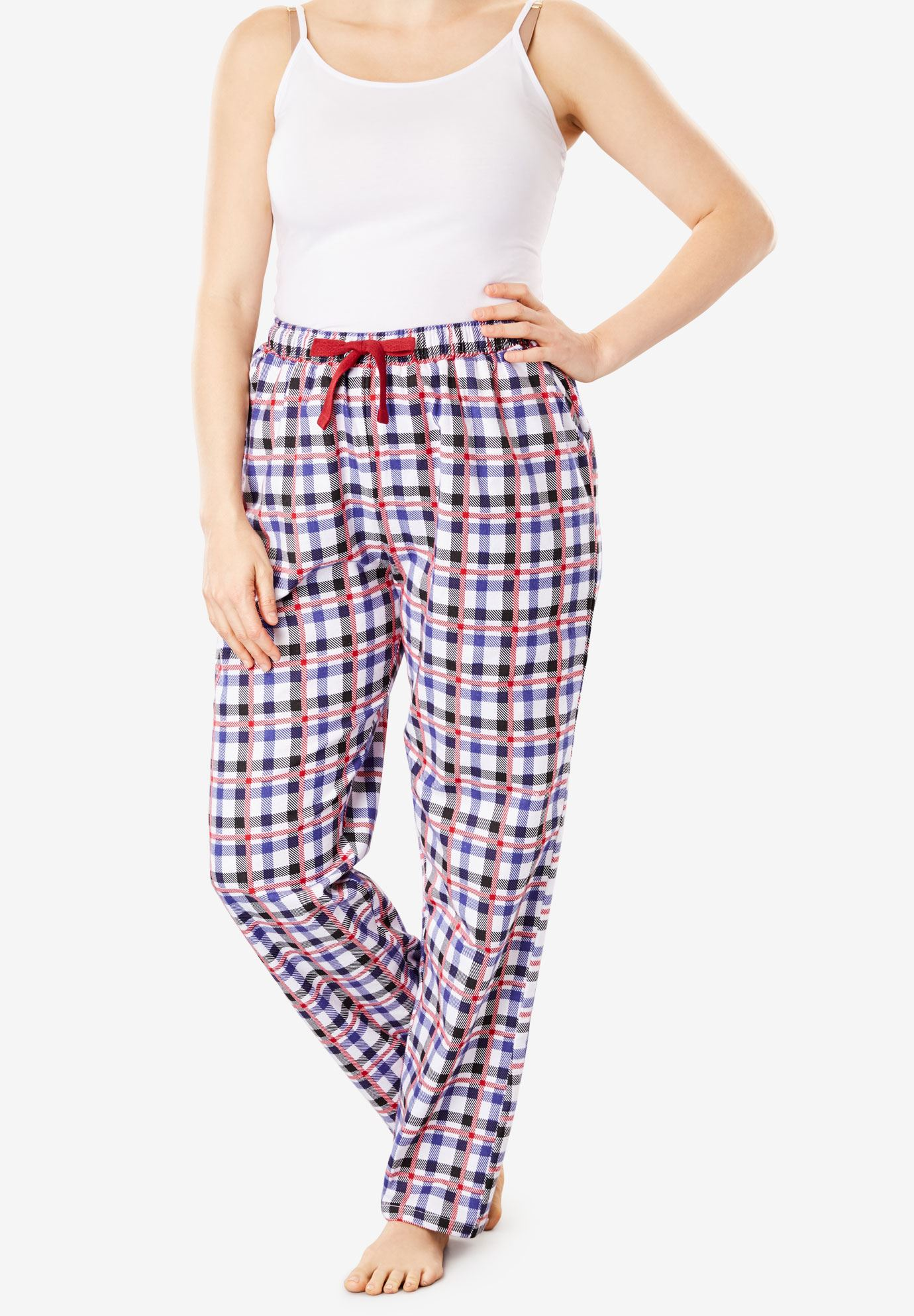 Cotton Flannel Pants by Dreams & Co.®, , hi-res