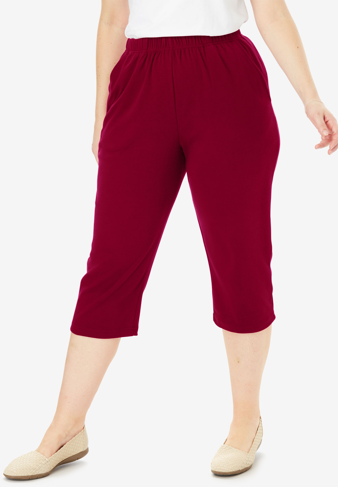 7-Day Knit Capri,