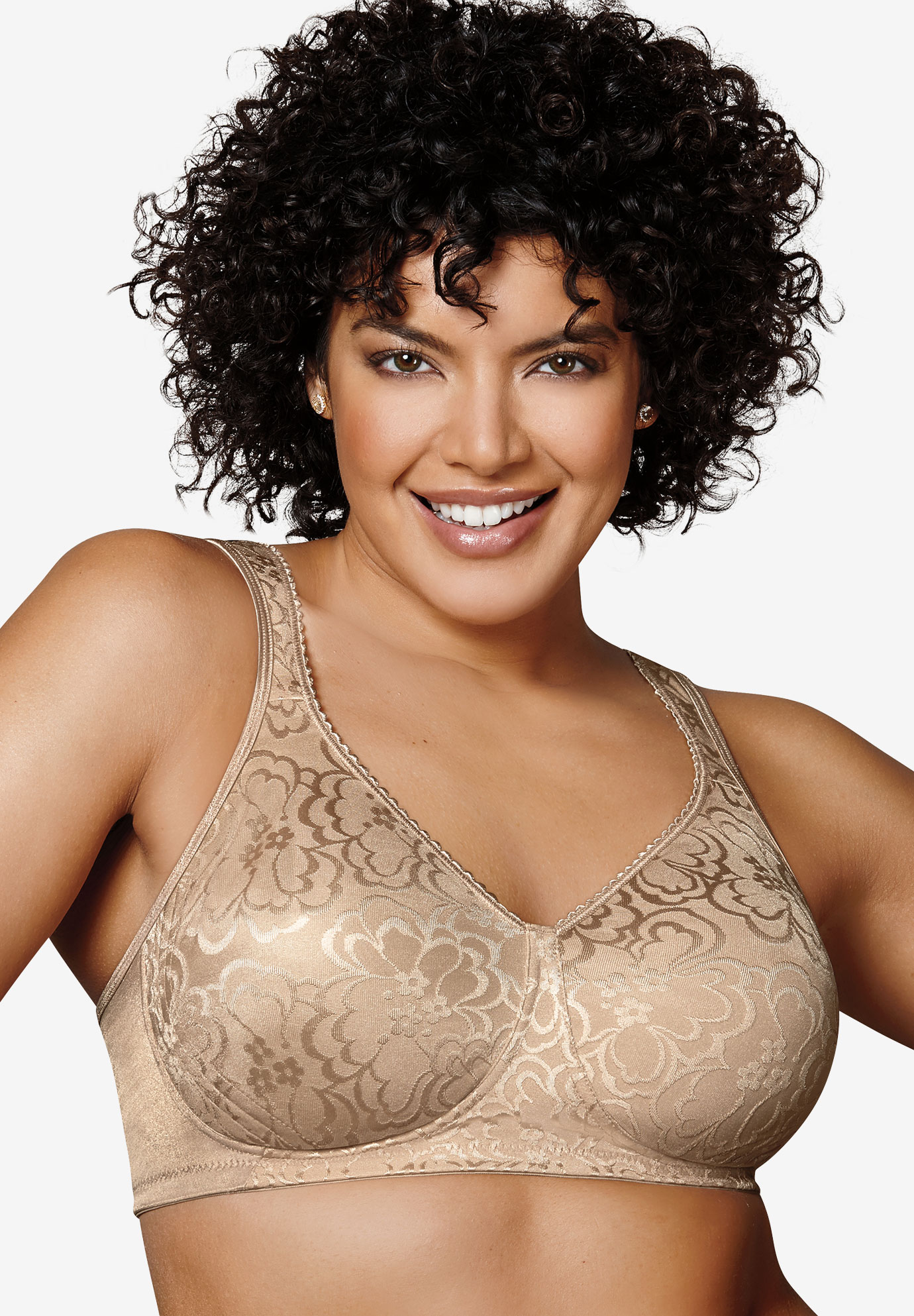Bra, wireless ultimate lift & support by Playtex® 18 Hour,