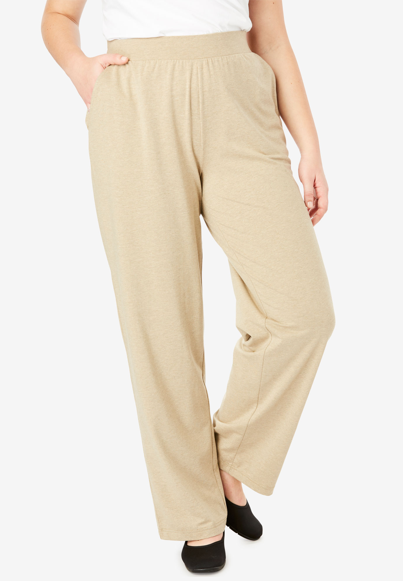 EveryWear Essential Wide Leg Pant,