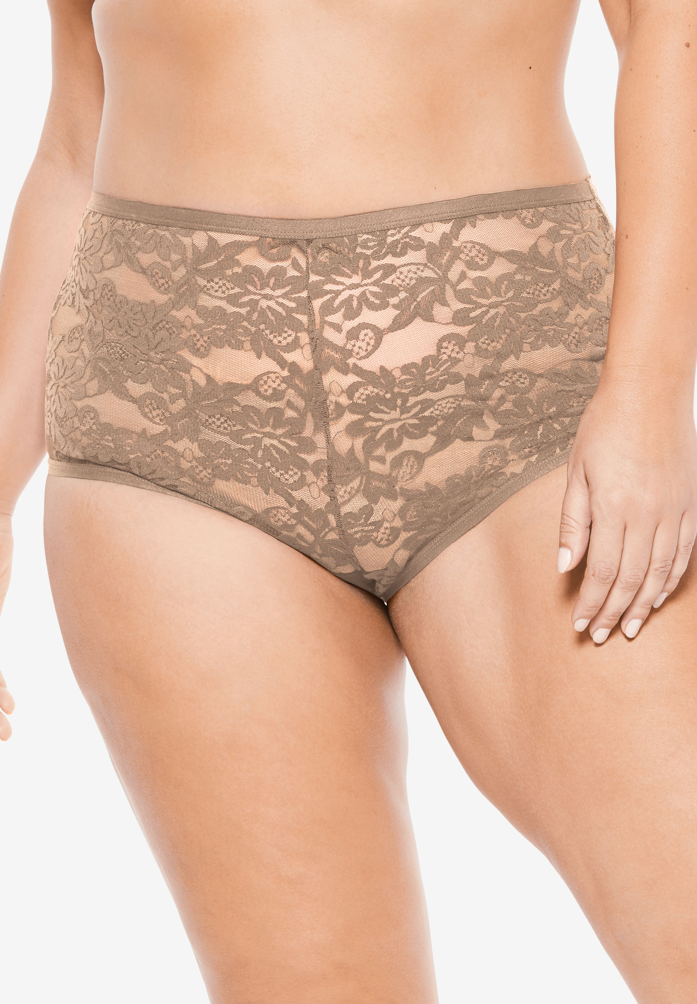 2-Pack Lace Full-Cut Brief by Comfort Choice®,