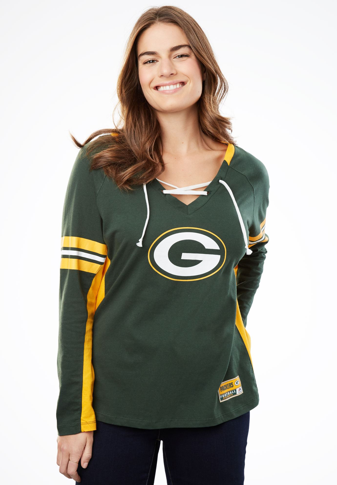 NFL Team Lace-Up Tee,