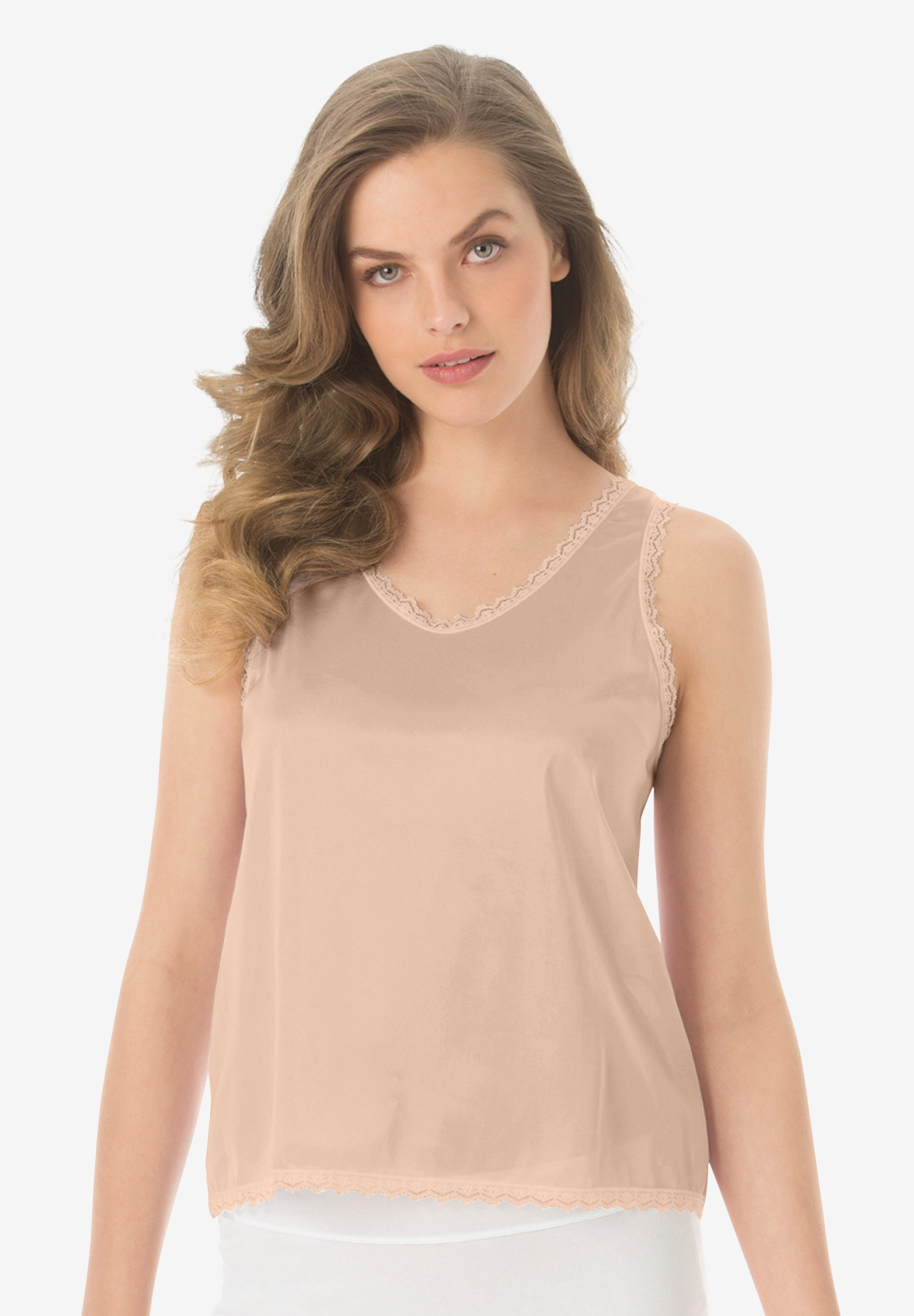 Lace-Trim Camisole ,