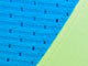 Firm Impact Motion Control Active Bra by Glamorise®, BLUE GREEN, swatch