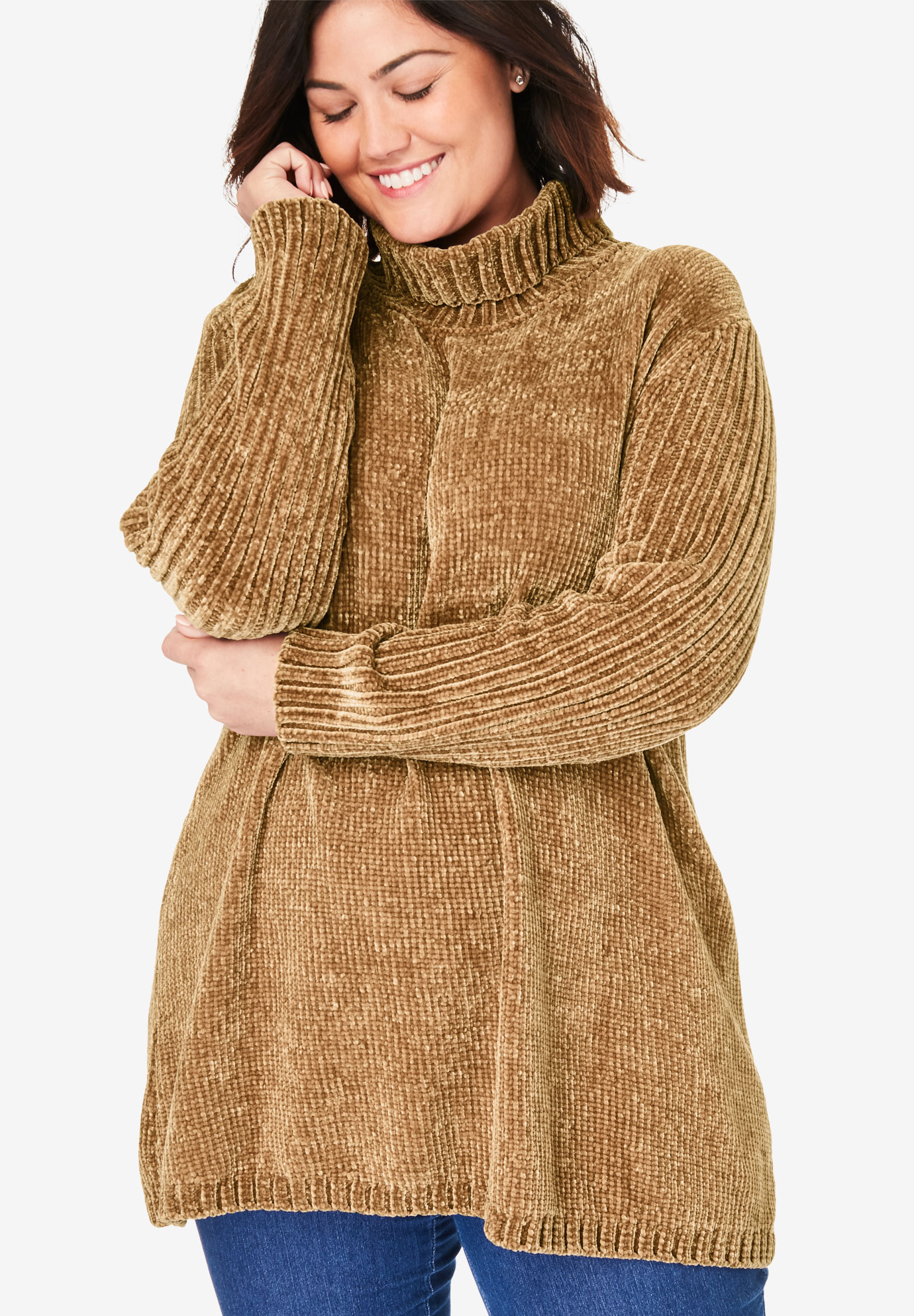 Chenille Cowlneck,