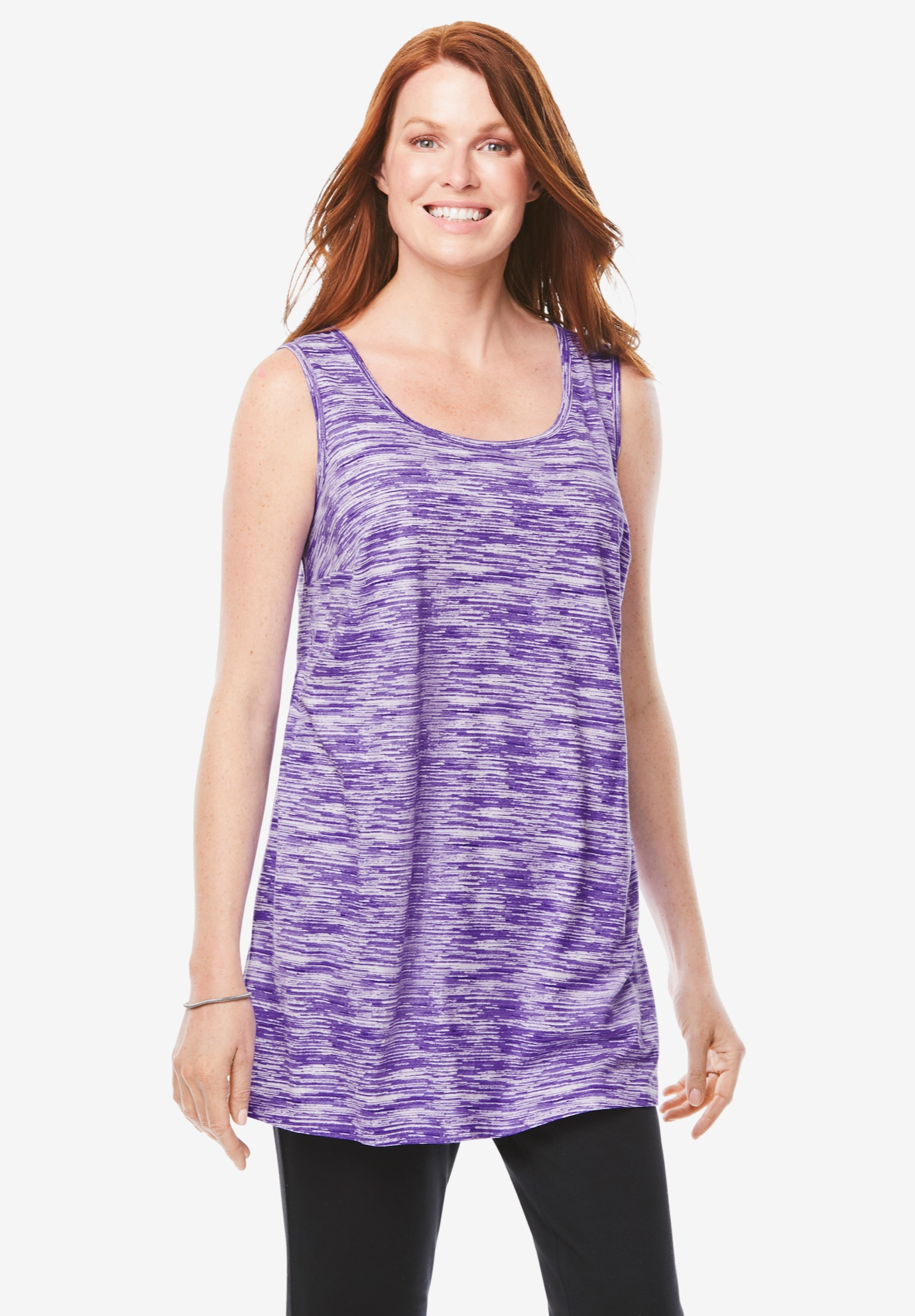 Longer Length Sleeveless Tunic,