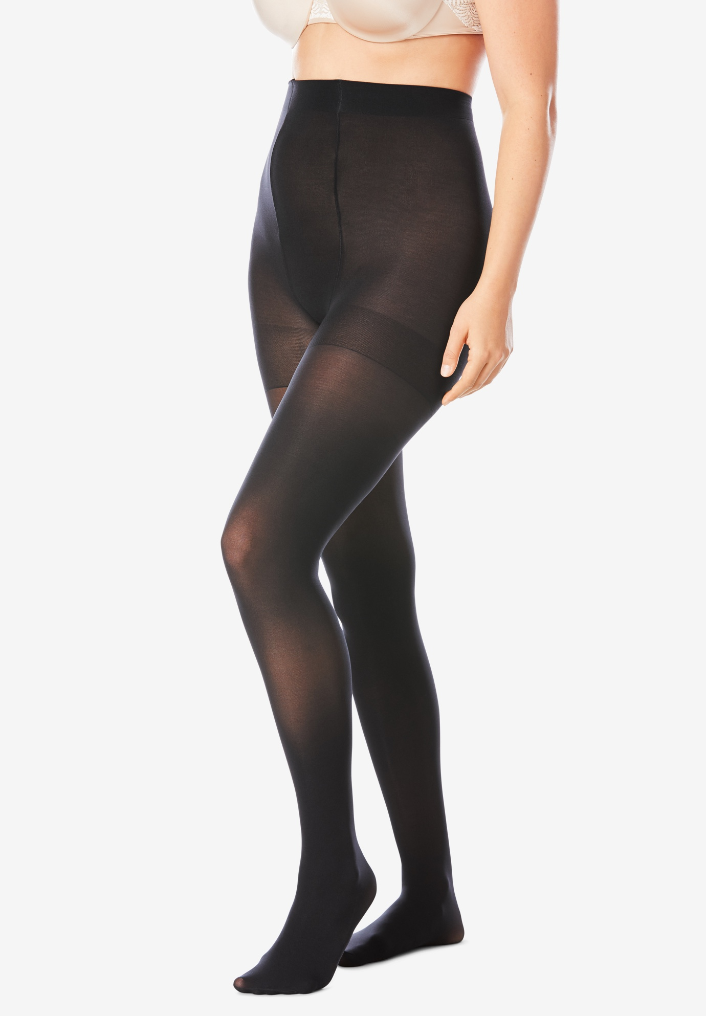 2-Pack Compression Tights by Comfort Choice®,