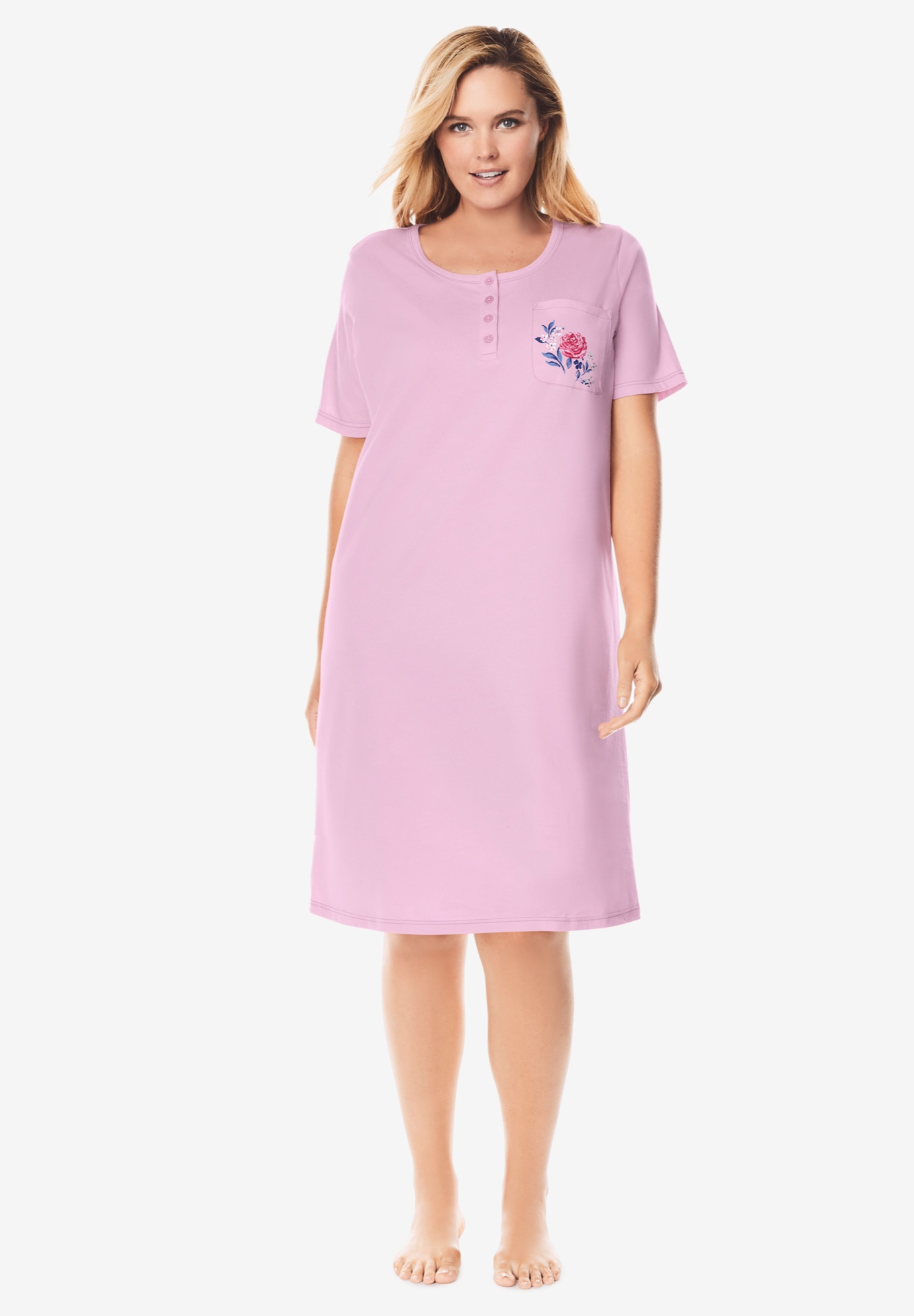 Cotton Sleepshirt by Dreams & Co.®,