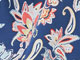 Print Sleeveless Lounger by Dreams & Co.®, ROYAL NAVY FLORAL, swatch