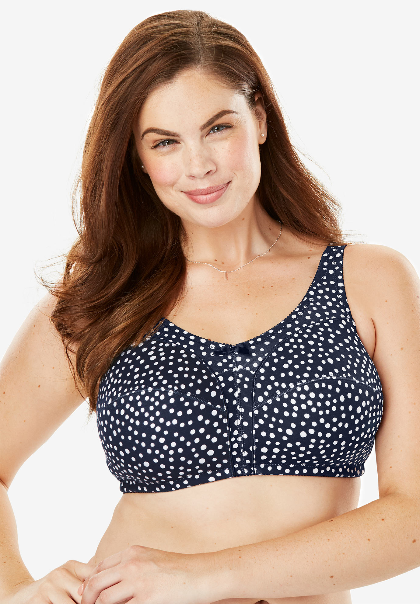 Cotton Wireless Bra by Comfort Choice®,