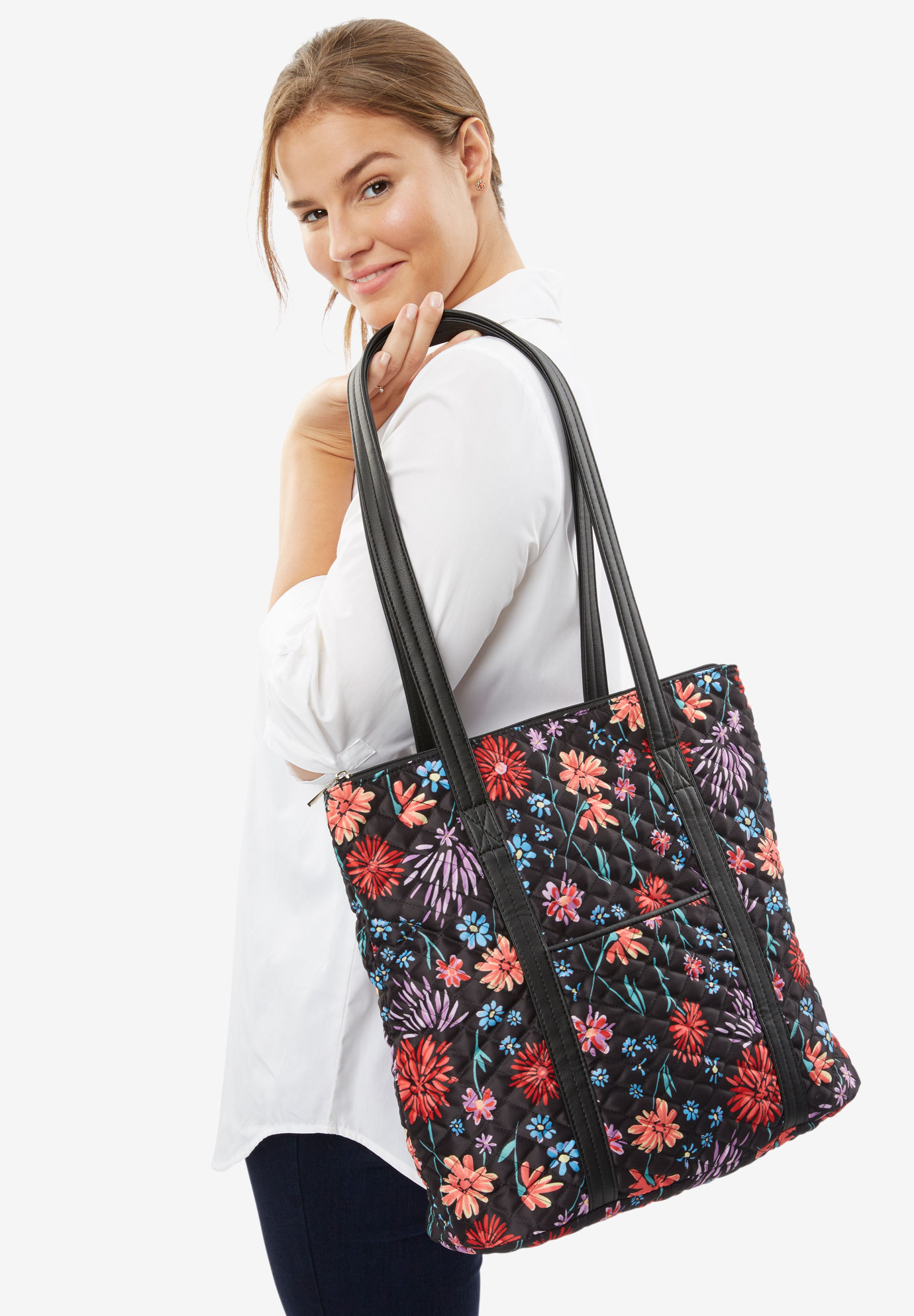 Floral Tote,