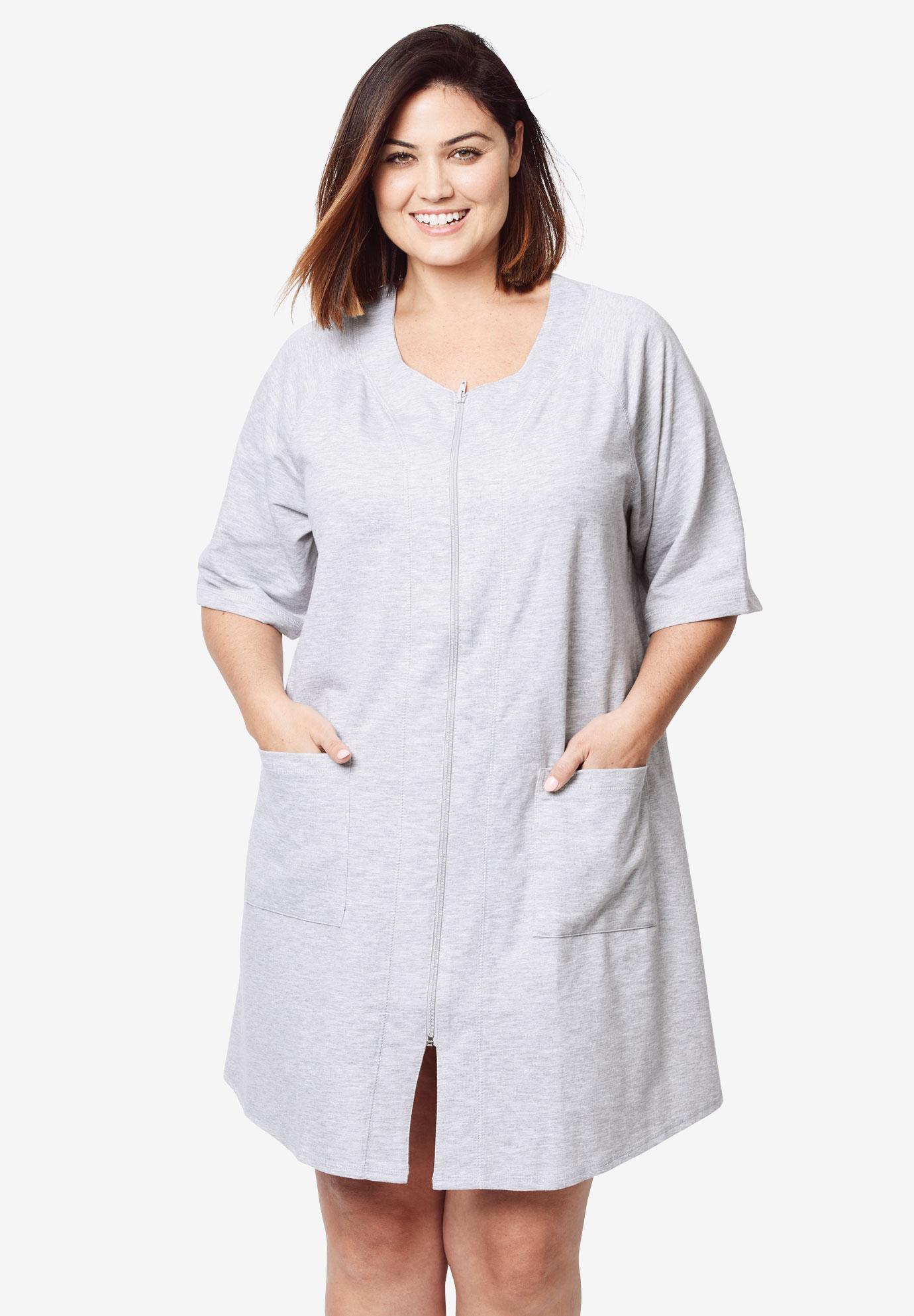 plus size terry robe - Mersn.proforum.co