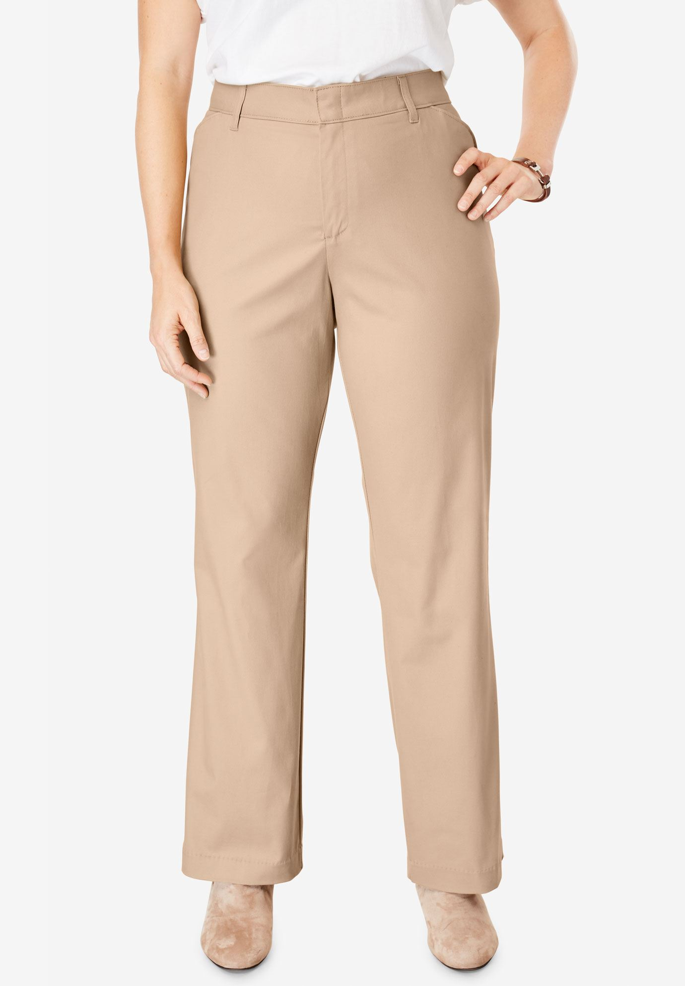 Relaxed Straight Leg Stretch Twill Pant by Dickies®,